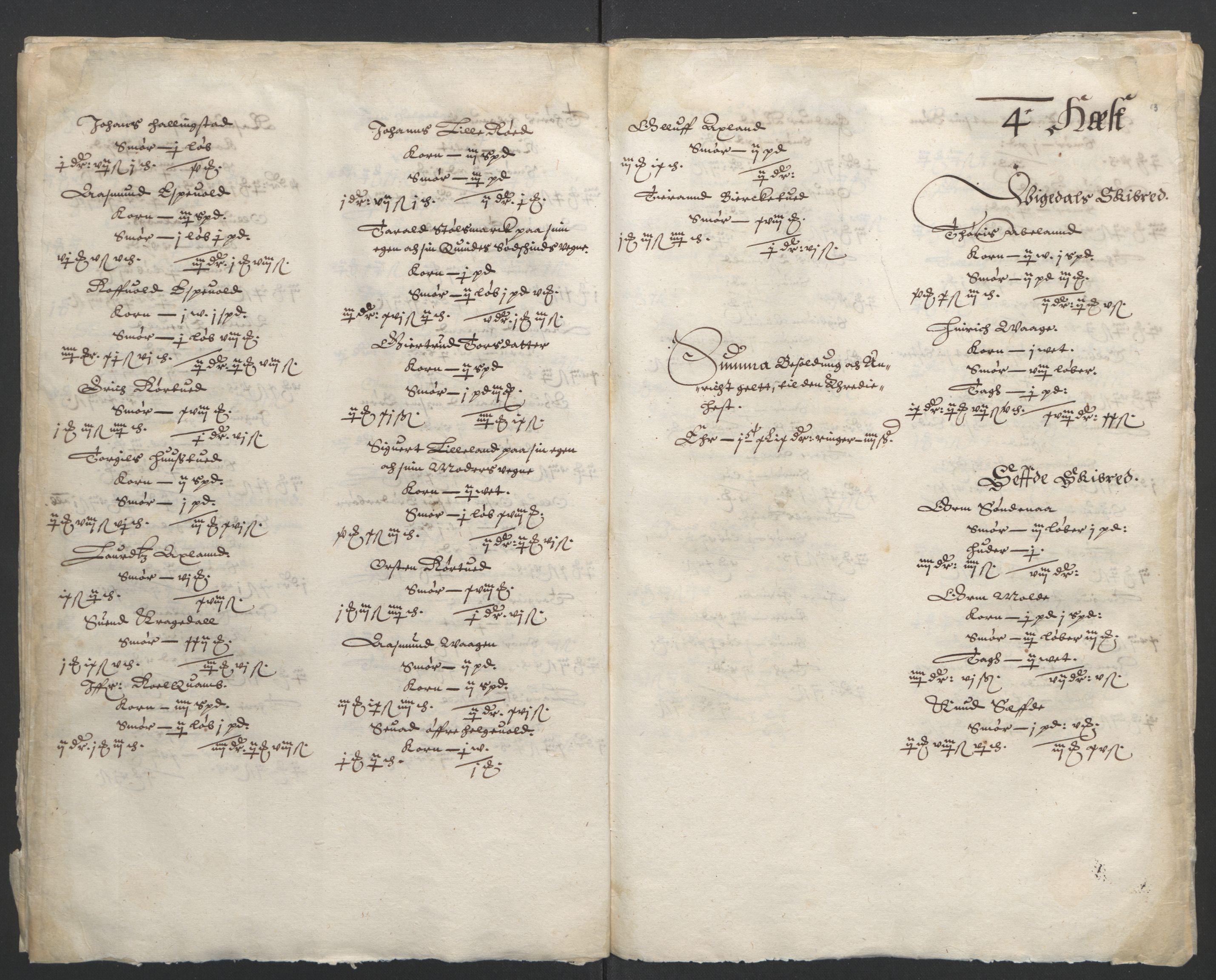 RA, Stattholderembetet 1572-1771, Ek/L0010: Jordebøker til utlikning av rosstjeneste 1624-1626:, 1624-1626, s. 78