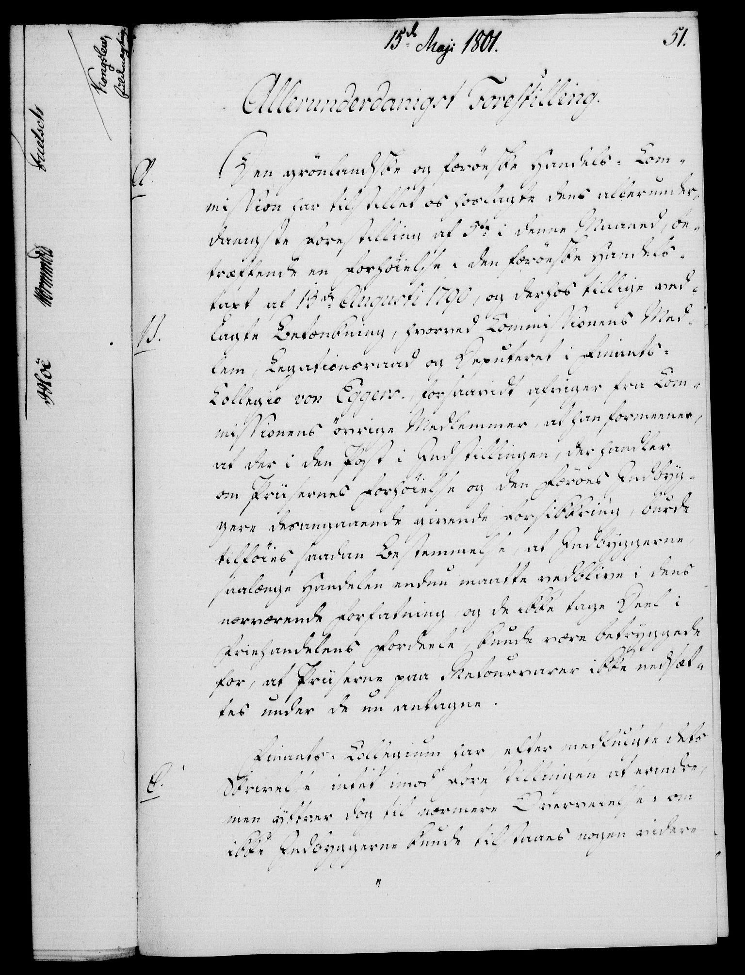 RA, Rentekammeret, Kammerkanselliet, G/Gf/Gfa/L0083: Norsk relasjons- og resolusjonsprotokoll (merket RK 52.83), 1801, s. 313