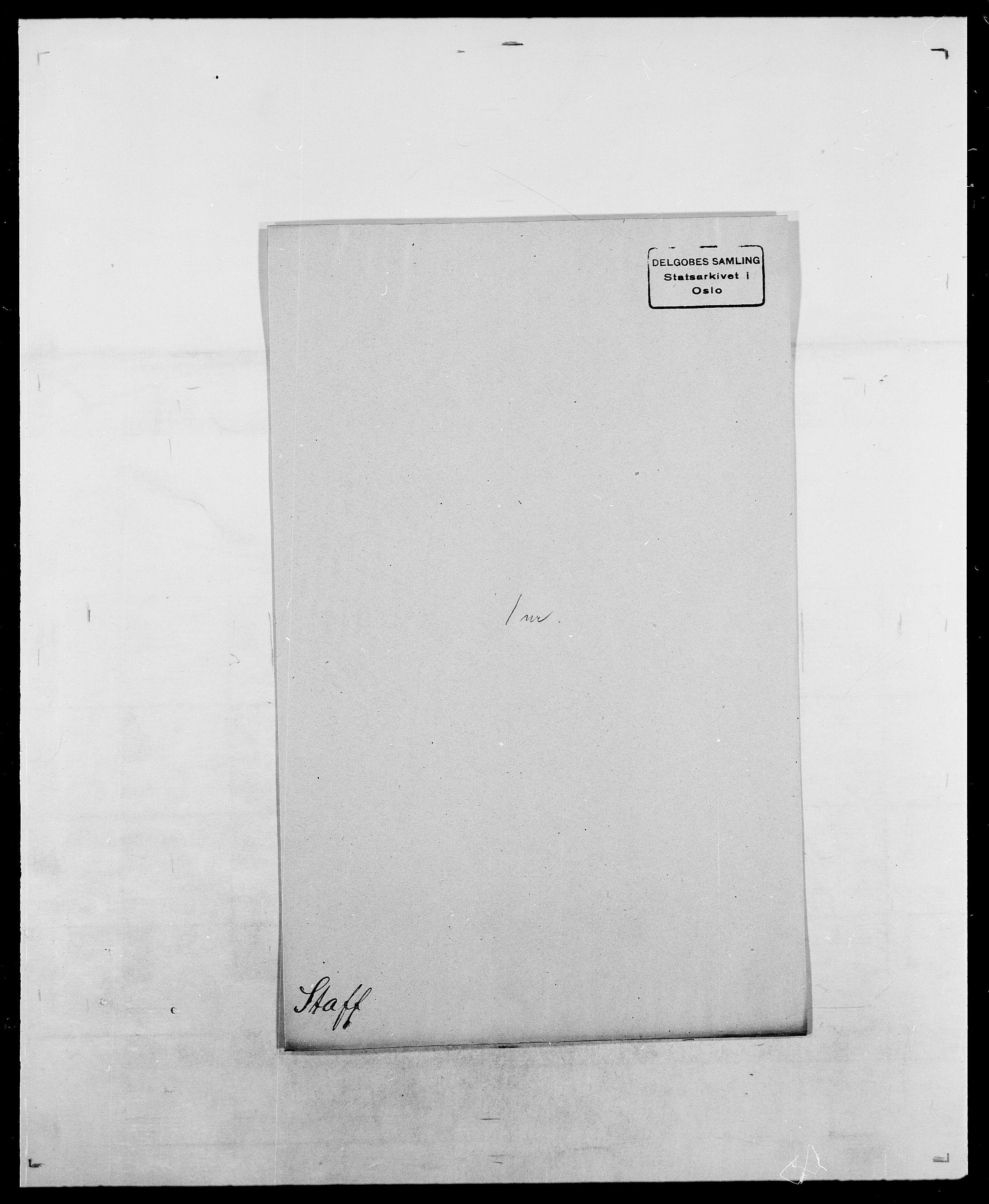 SAO, Delgobe, Charles Antoine - samling, D/Da/L0036: Skaanør - Staverskov, s. 930