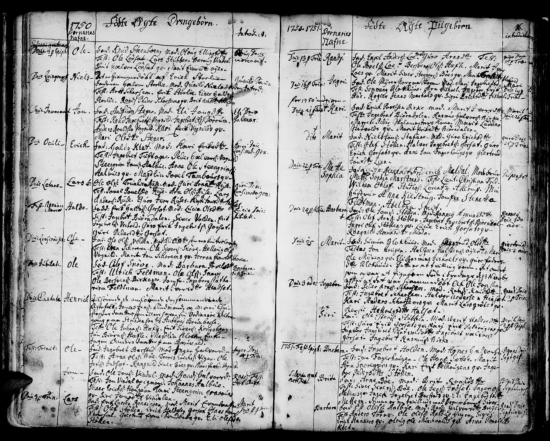 SAT, Ministerialprotokoller, klokkerbøker og fødselsregistre - Sør-Trøndelag, 678/L0891: Ministerialbok nr. 678A01, 1739-1780, s. 86