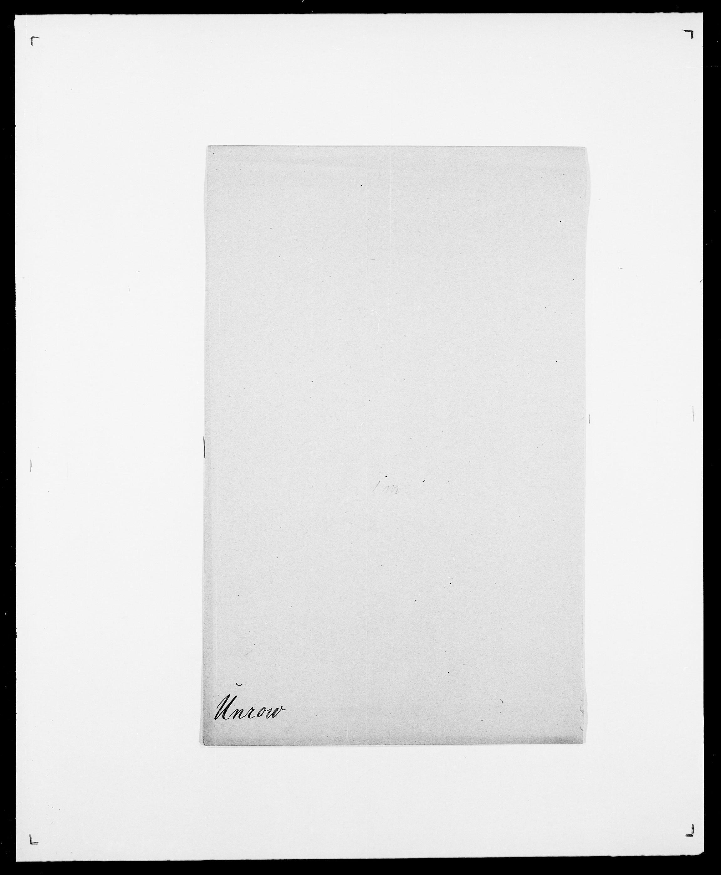 SAO, Delgobe, Charles Antoine - samling, D/Da/L0039: Thorsen - Urup, s. 736