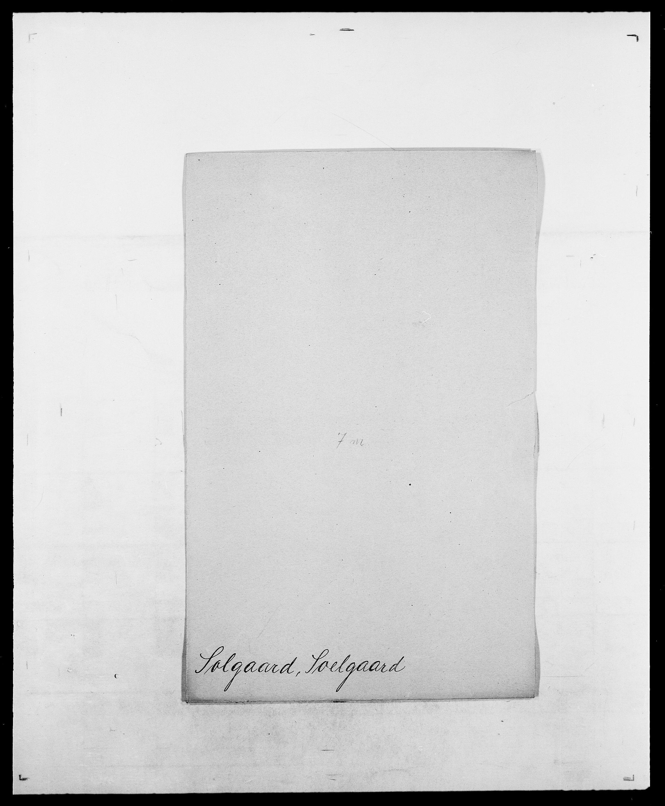 SAO, Delgobe, Charles Antoine - samling, D/Da/L0036: Skaanør - Staverskov, s. 400