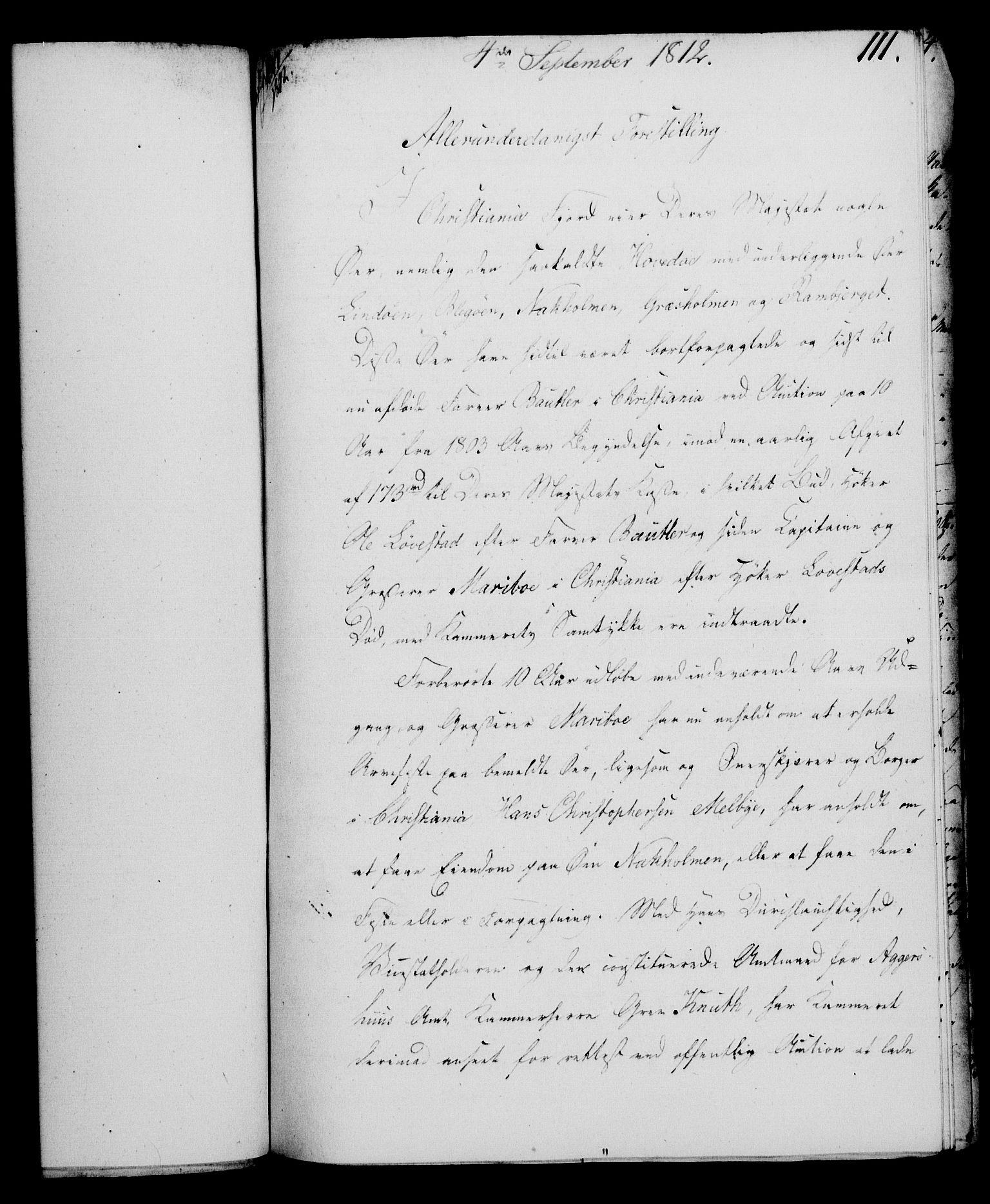 RA, Rentekammeret, Kammerkanselliet, G/Gf/Gfa/L0094: Norsk relasjons- og resolusjonsprotokoll (merket RK 52.94), 1812, s. 435