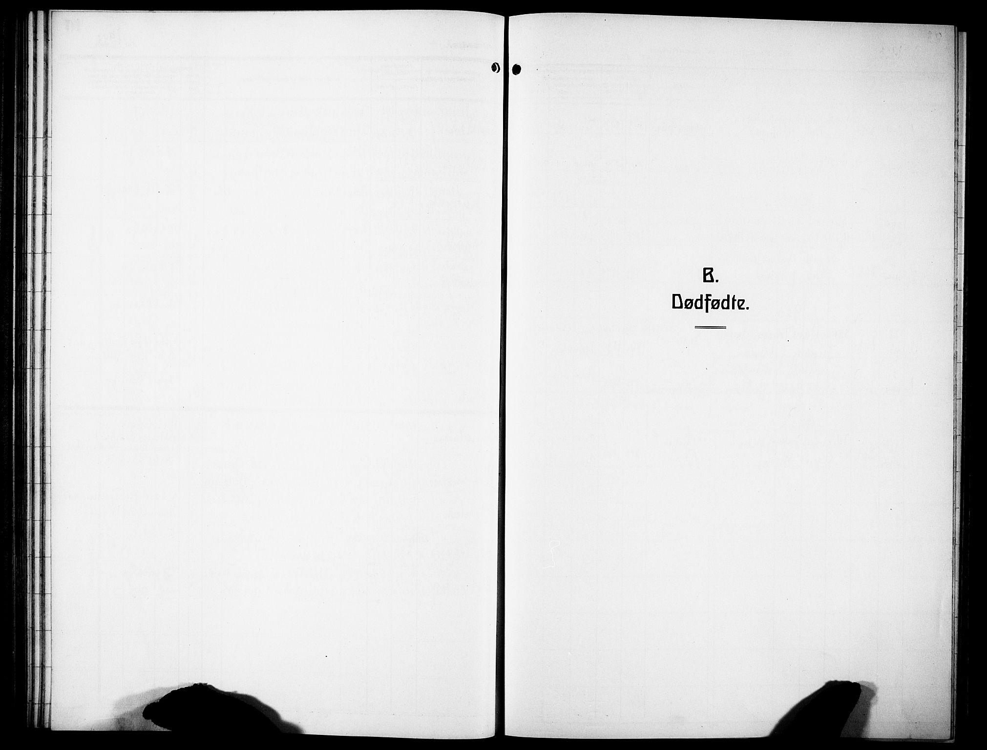 SAH, Lunner prestekontor, H/Ha/Hab/L0002: Klokkerbok nr. 2, 1923-1933