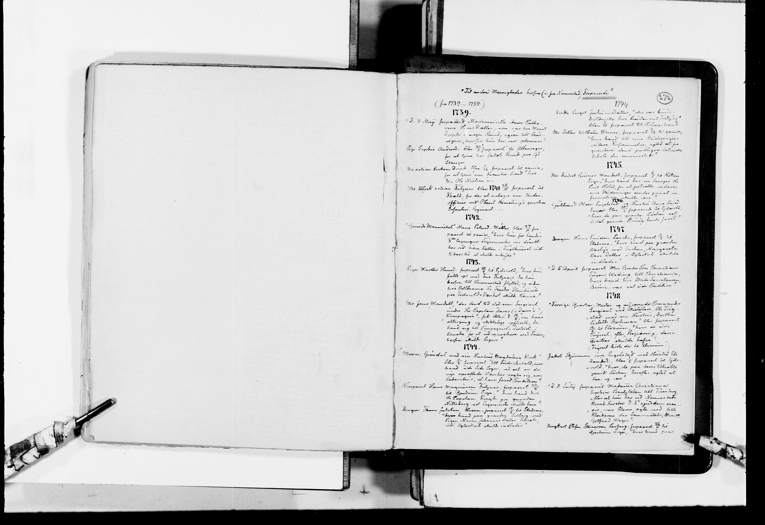 RA, Lassens samlinger, F/Fc, s. 272