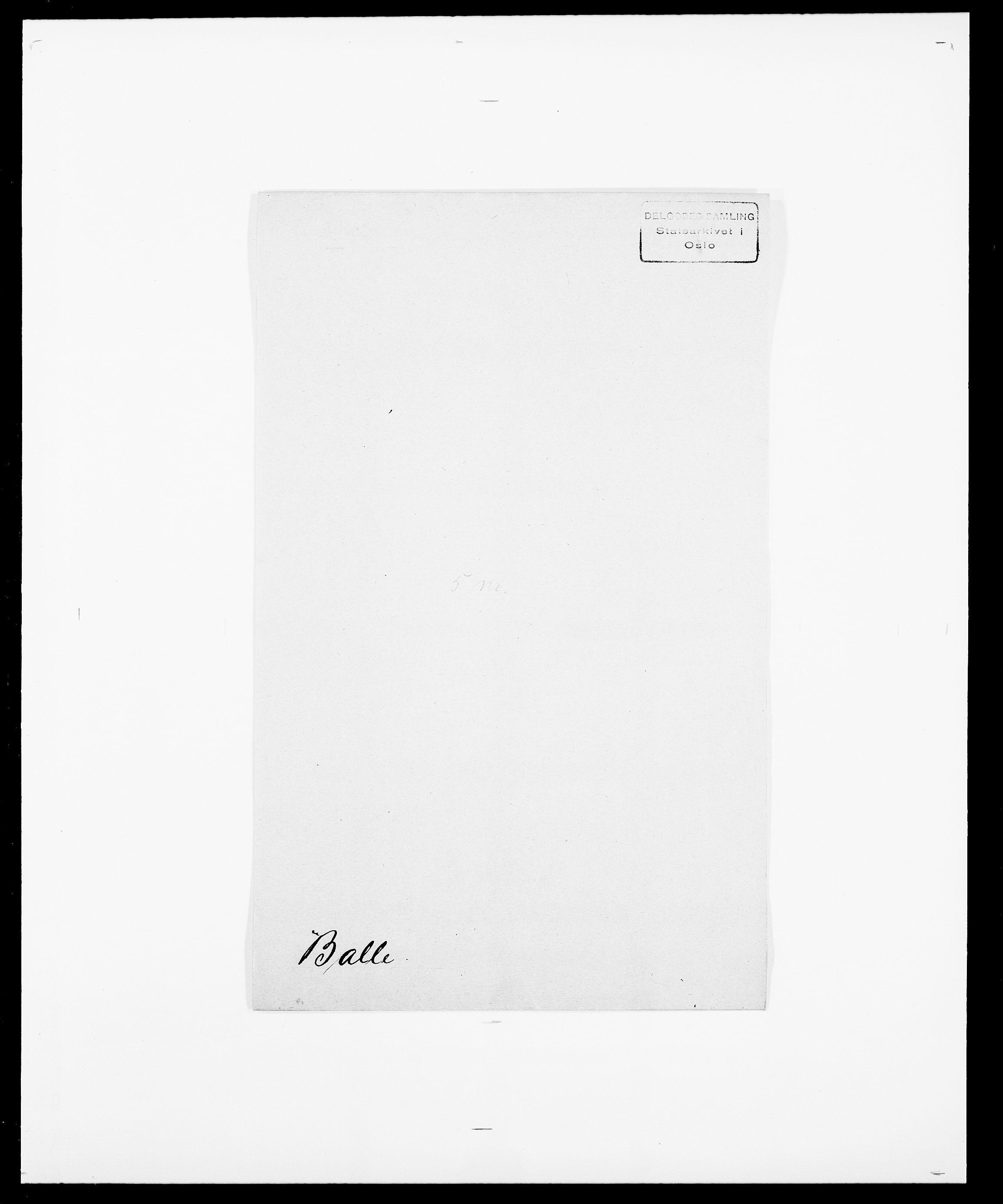 SAO, Delgobe, Charles Antoine - samling, D/Da/L0003: Barca - Bergen, s. 180