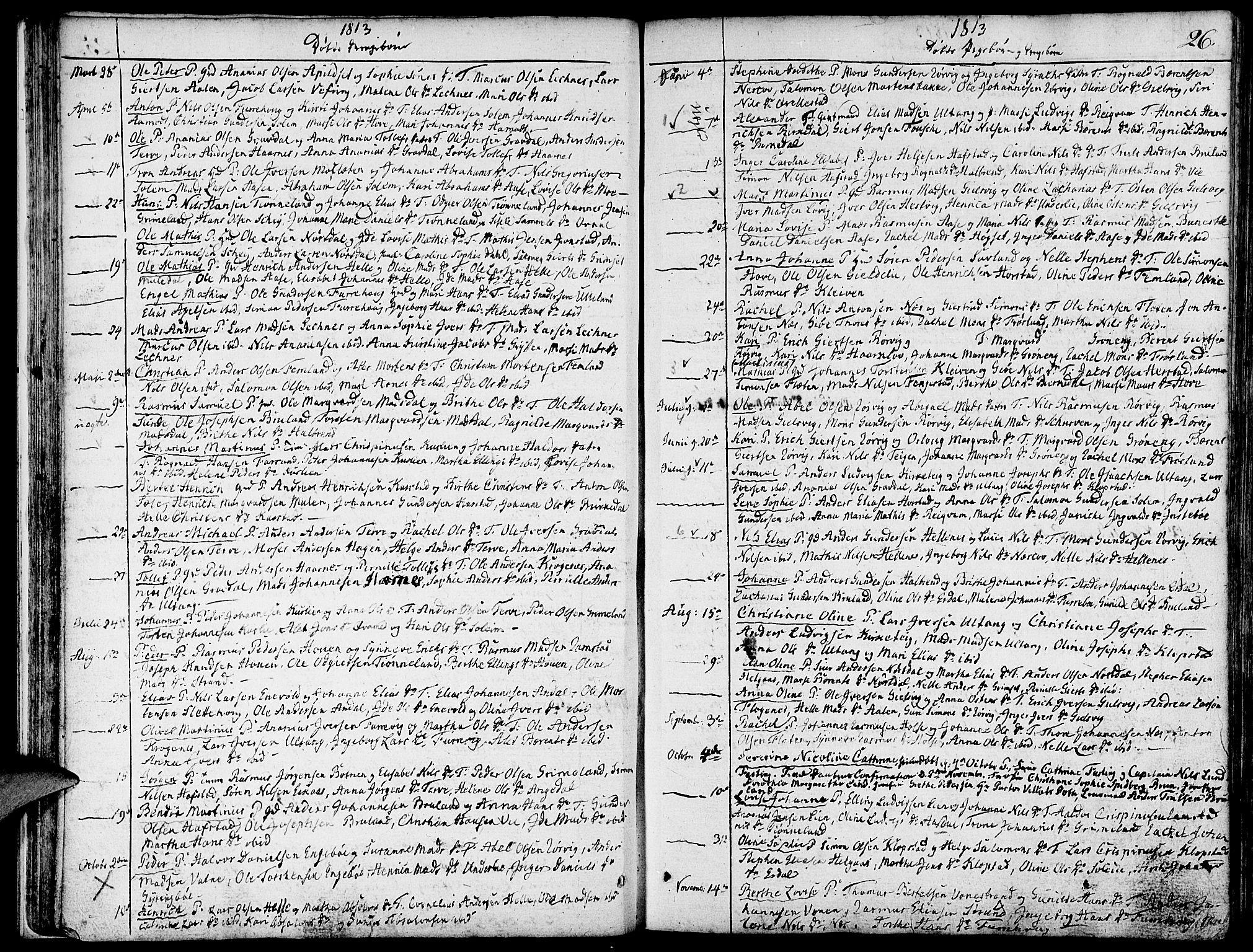 SAB, Førde Sokneprestembete, H/Haa: Ministerialbok nr. A 5, 1803-1821, s. 26