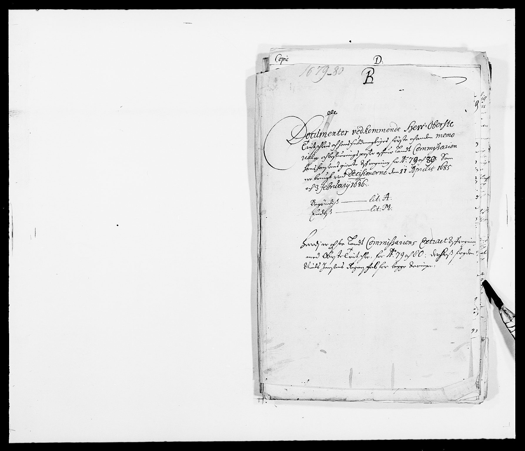 RA, Rentekammeret inntil 1814, Reviderte regnskaper, Fogderegnskap, R32/L1849: Fogderegnskap Jarlsberg grevskap, 1679-1680, s. 1