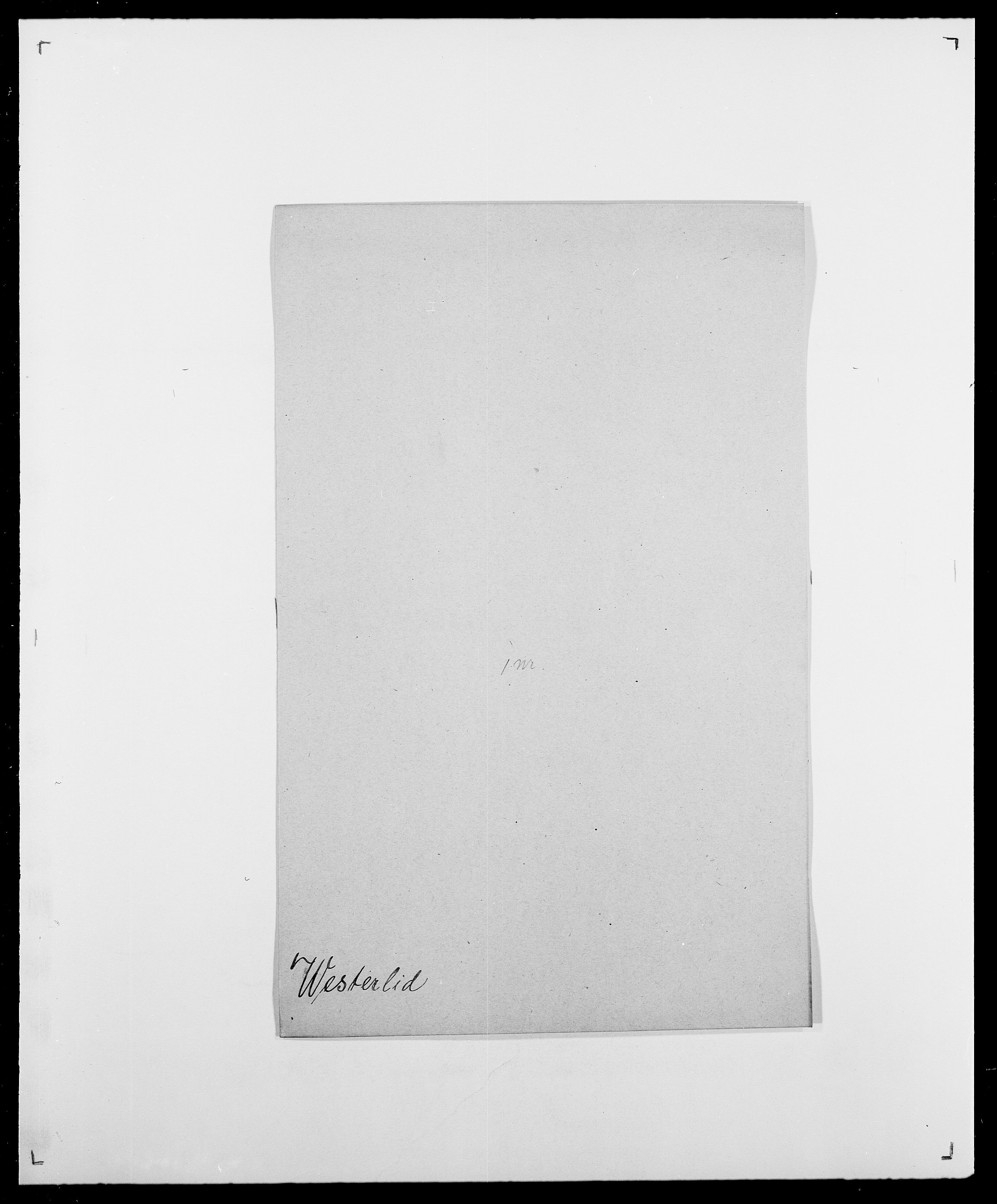 SAO, Delgobe, Charles Antoine - samling, D/Da/L0041: Vemmestad - Viker, s. 283