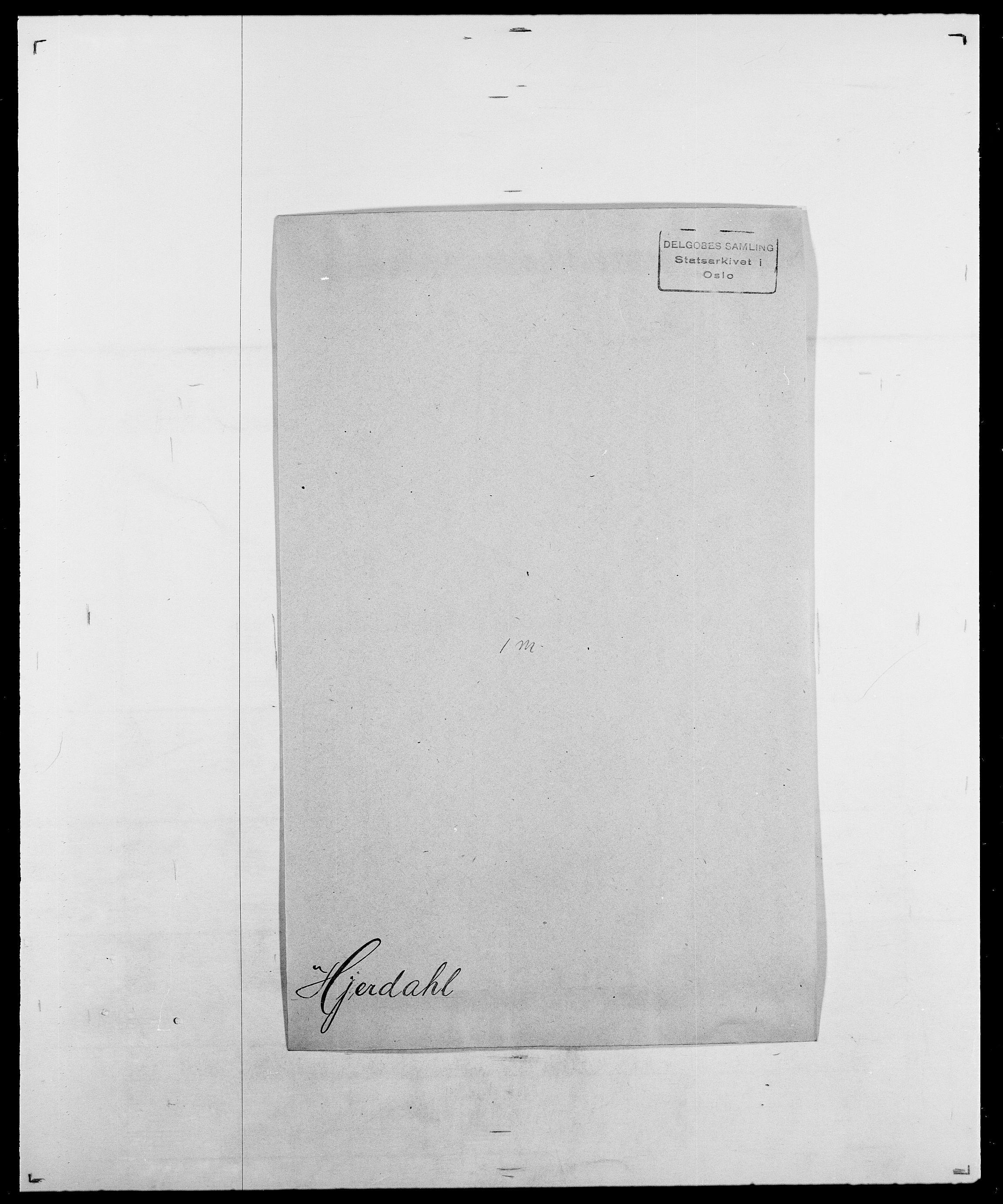 SAO, Delgobe, Charles Antoine - samling, D/Da/L0017: Helander - Hjørne, s. 542
