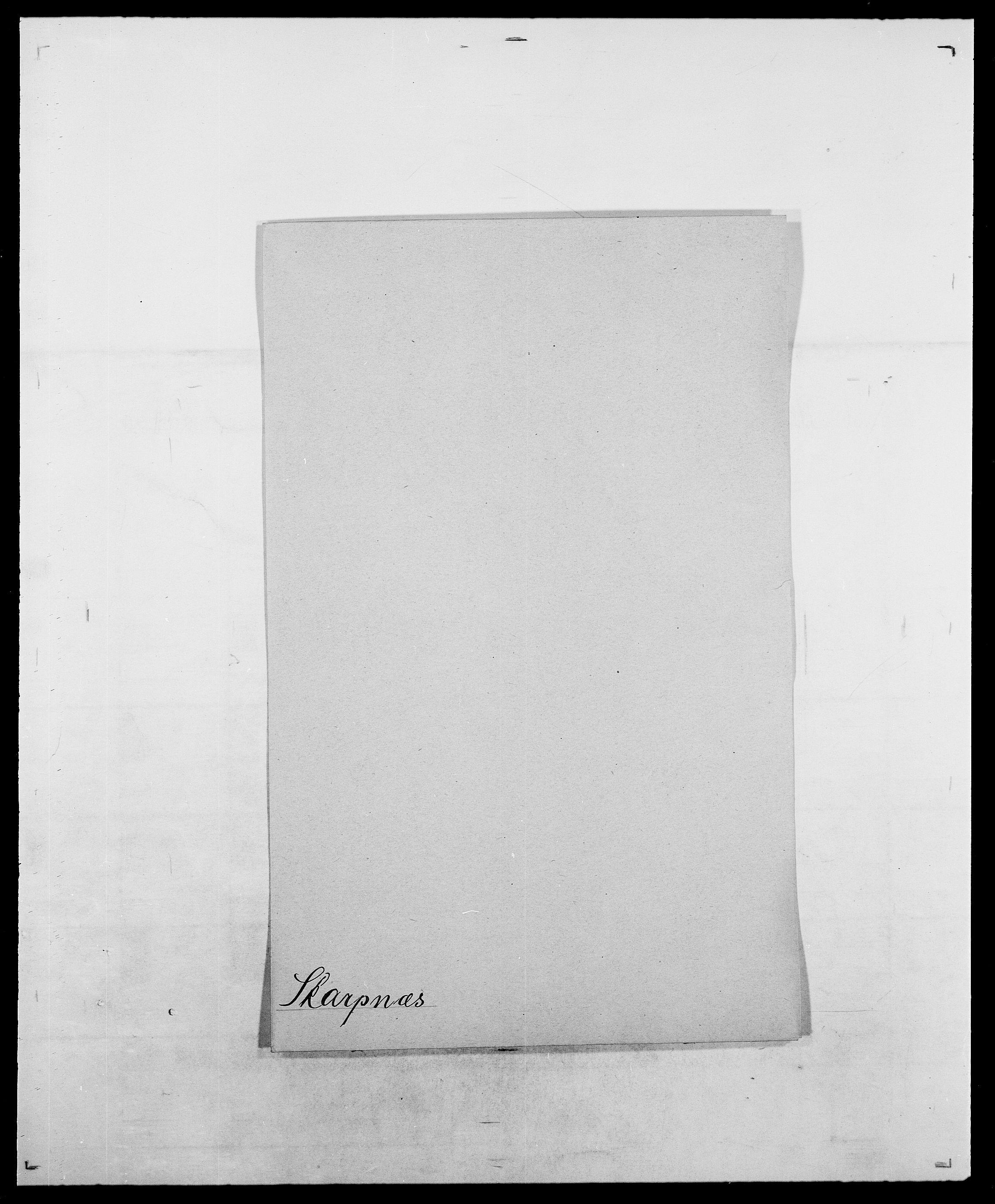 SAO, Delgobe, Charles Antoine - samling, D/Da/L0036: Skaanør - Staverskov, s. 32