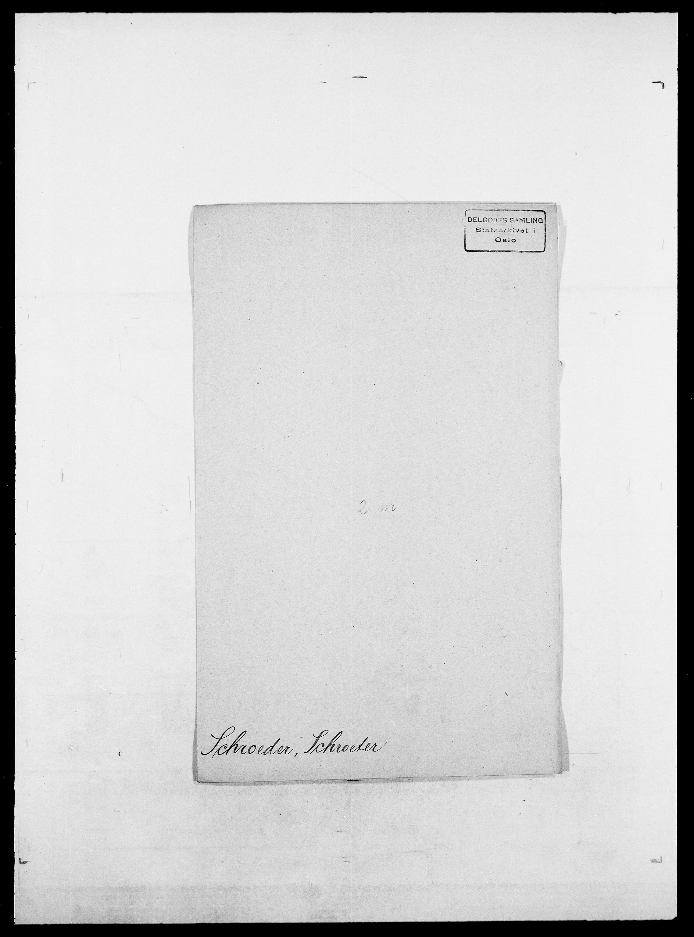 SAO, Delgobe, Charles Antoine - samling, D/Da/L0035: Schnabel - sjetman, s. 179