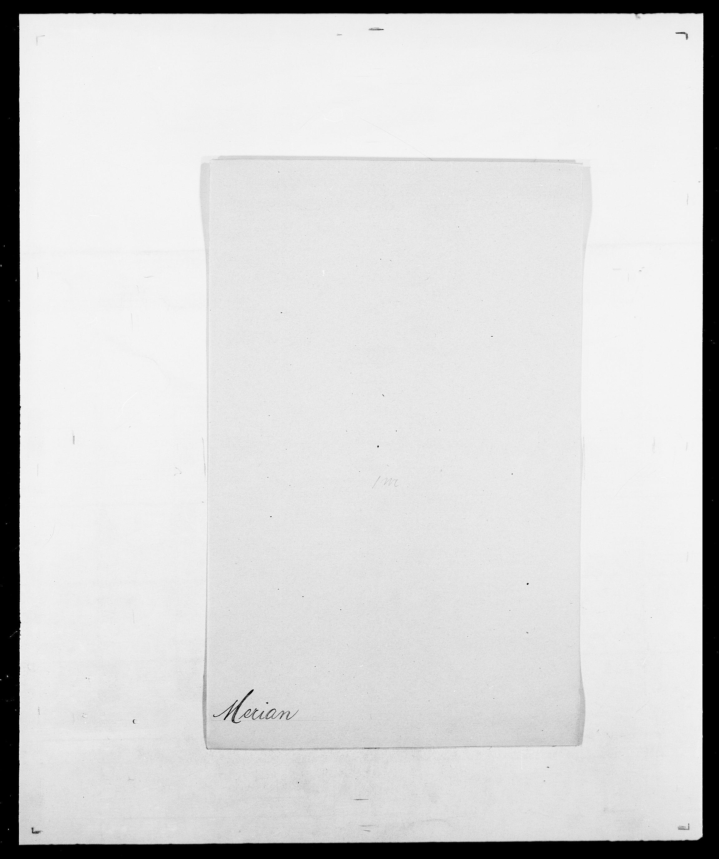 SAO, Delgobe, Charles Antoine - samling, D/Da/L0026: Mechelby - Montoppidan, s. 321