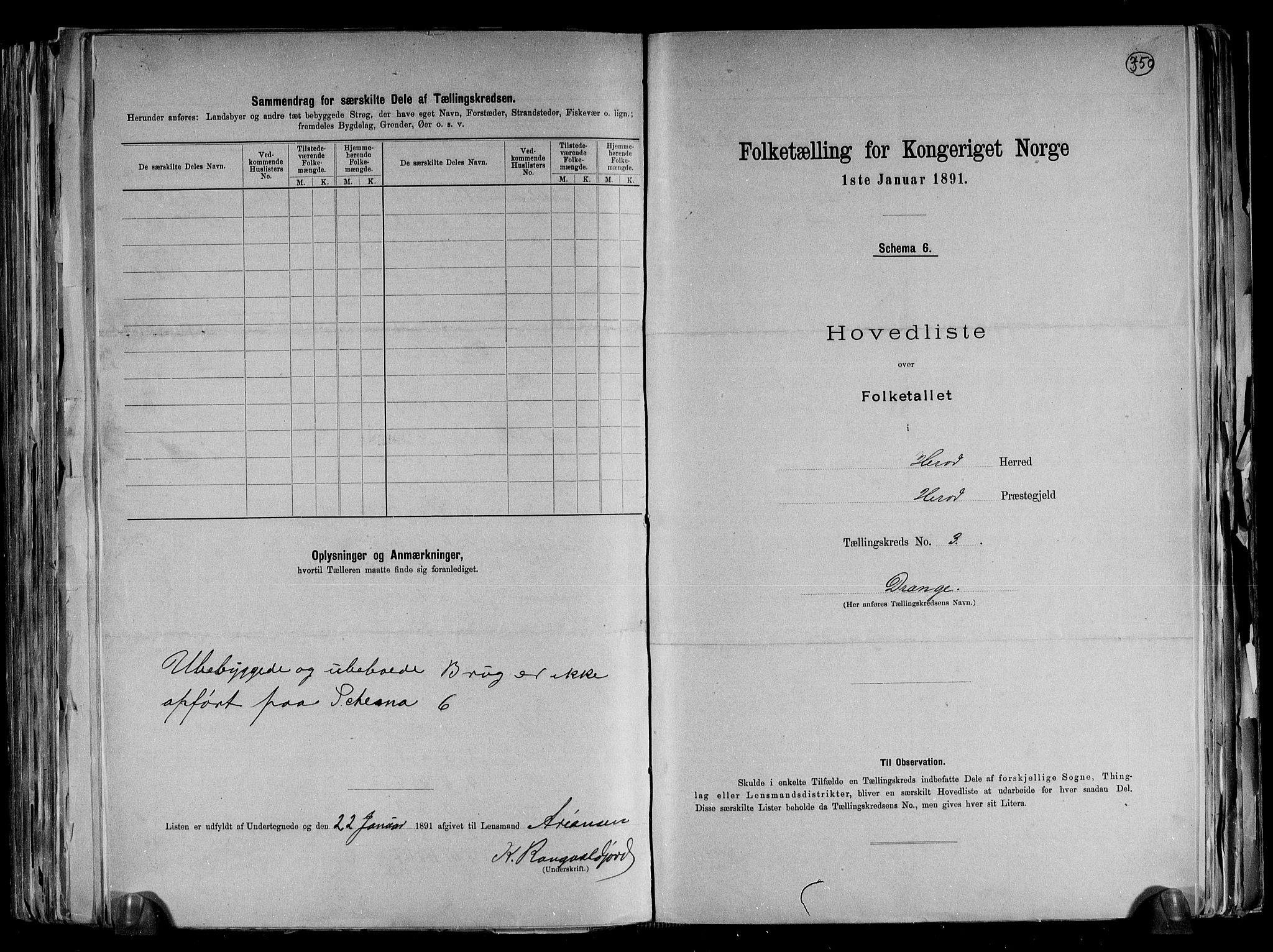 RA, Folketelling 1891 for 1039 Herad herred, 1891, s. 10