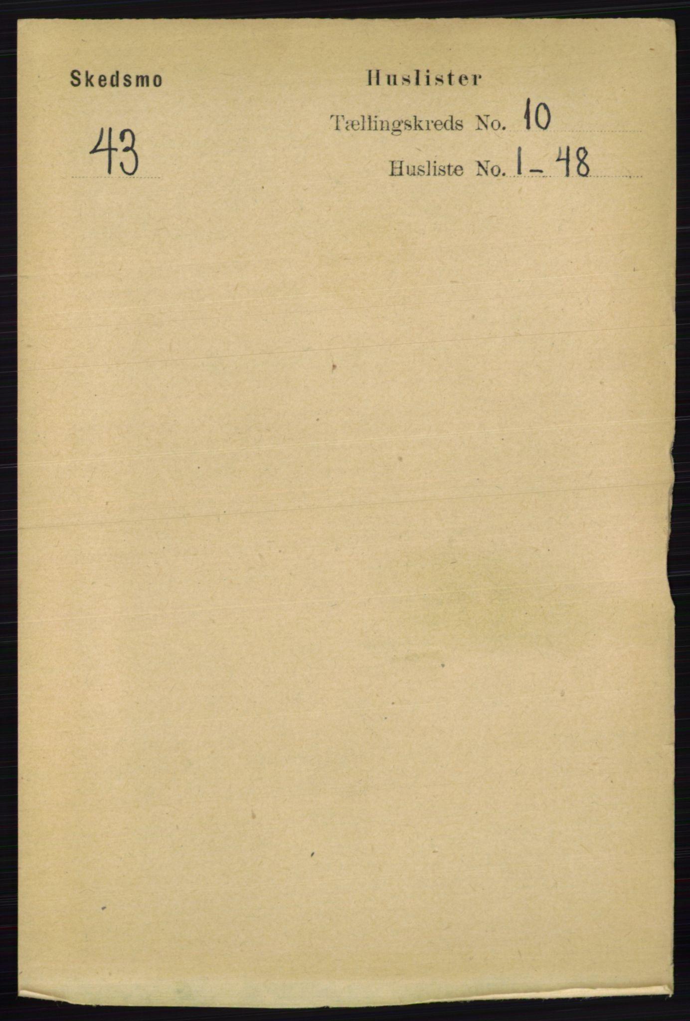 RA, Folketelling 1891 for 0231 Skedsmo herred, 1891, s. 5734
