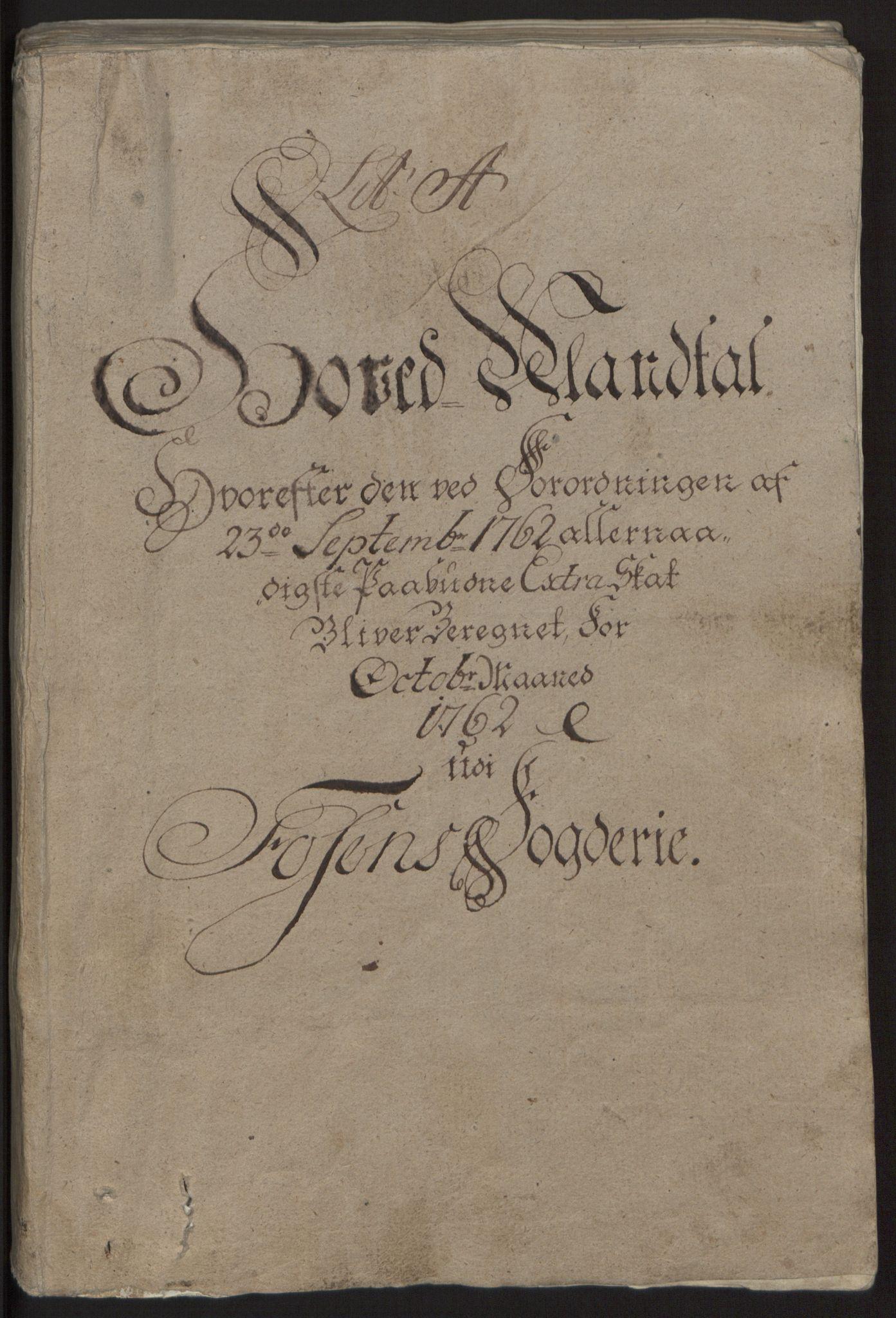 RA, Rentekammeret inntil 1814, Reviderte regnskaper, Fogderegnskap, R57/L3930: Ekstraskatten Fosen, 1762-1763, s. 16