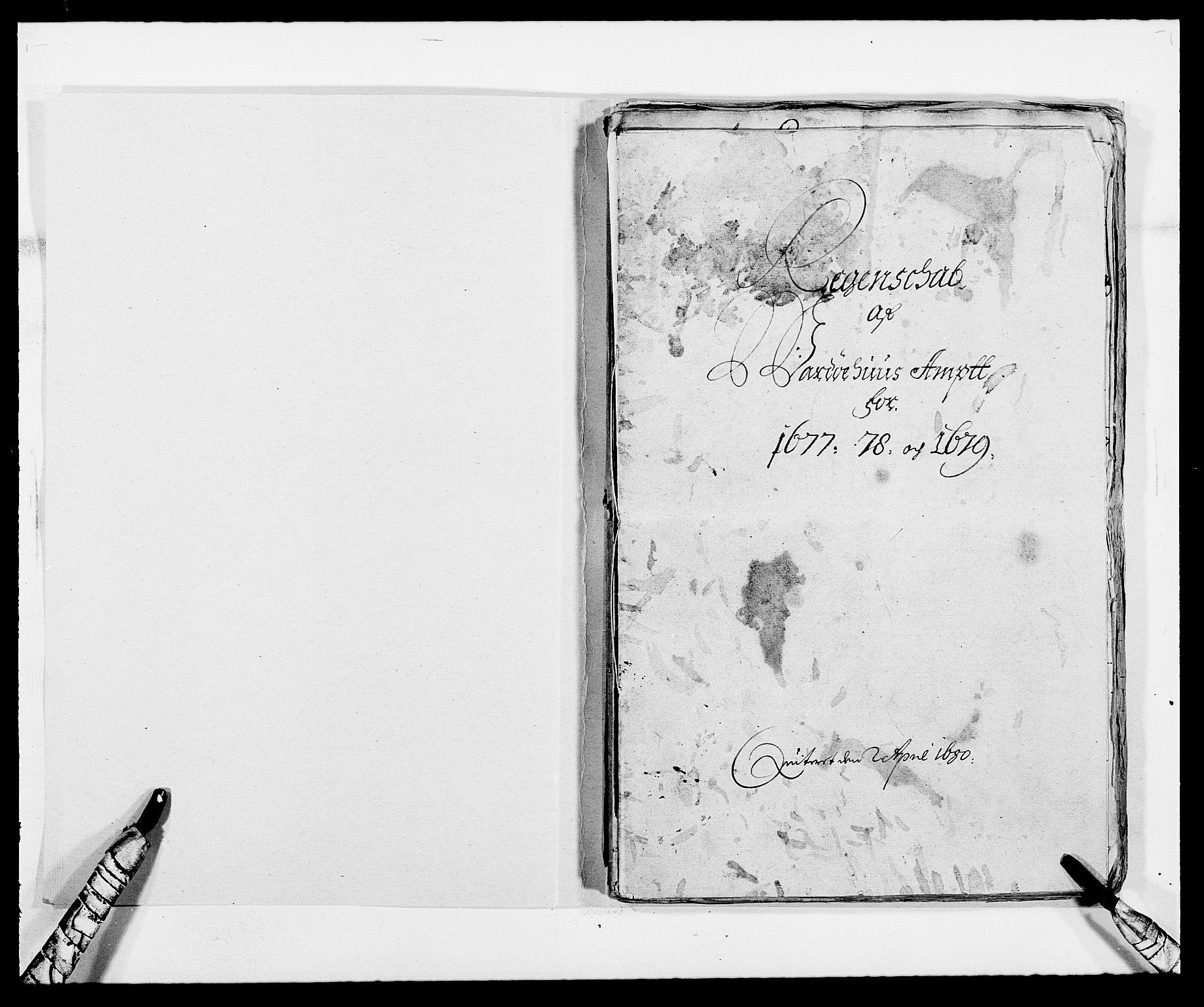 RA, Rentekammeret inntil 1814, Reviderte regnskaper, Fogderegnskap, R69/L4849: Fogderegnskap Finnmark/Vardøhus, 1661-1679, s. 372