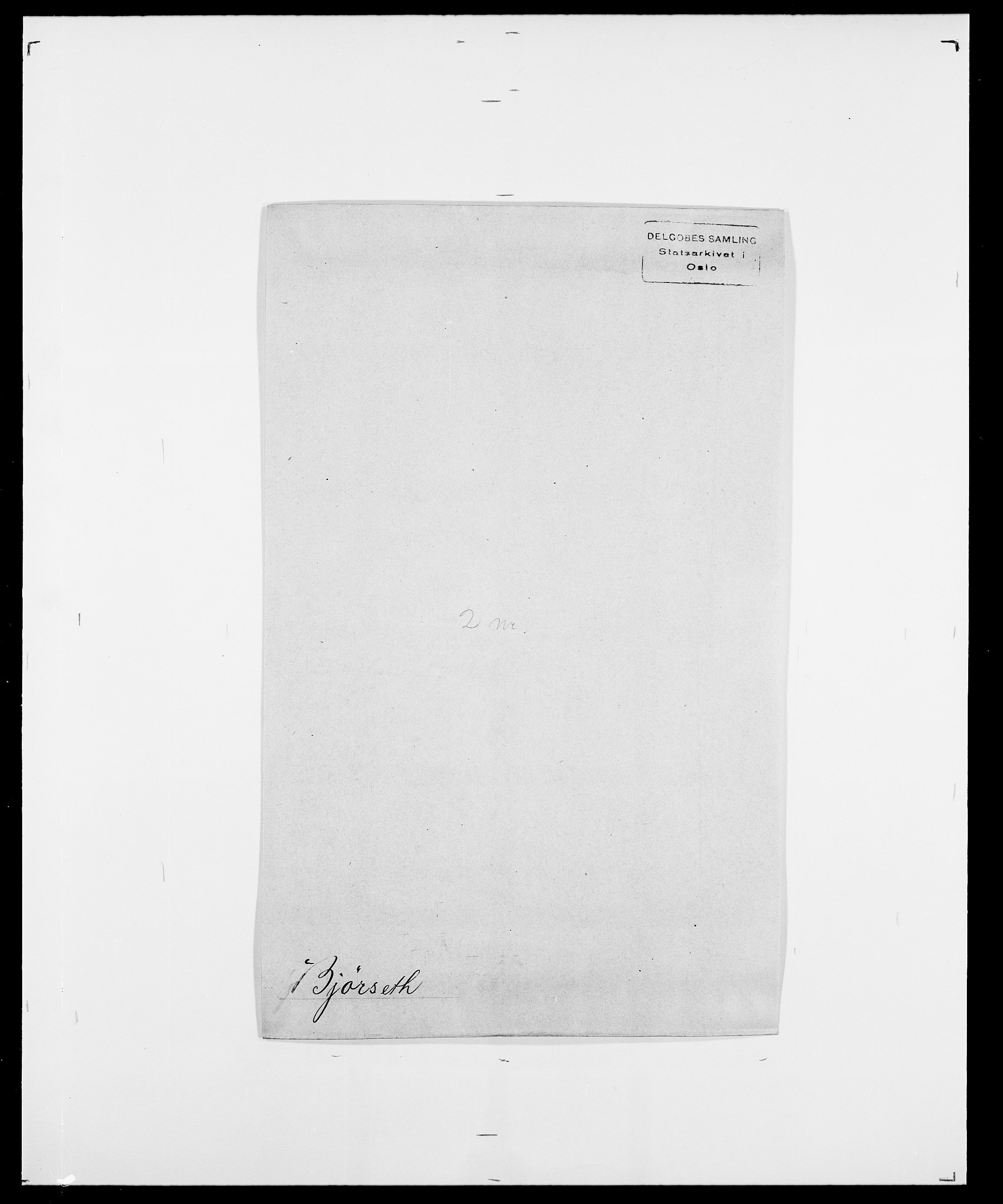 SAO, Delgobe, Charles Antoine - samling, D/Da/L0004: Bergendahl - Blære, s. 508