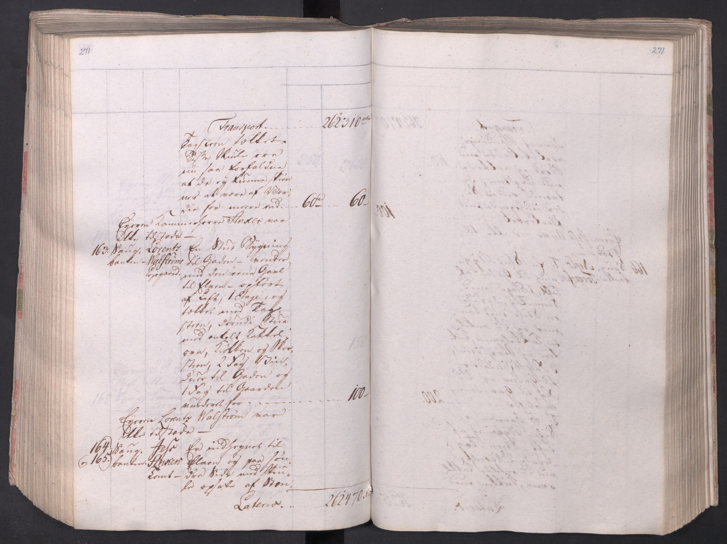 SAO, Kristiania stiftamt, I/Ia/L0015: Branntakster, 1797, s. 271