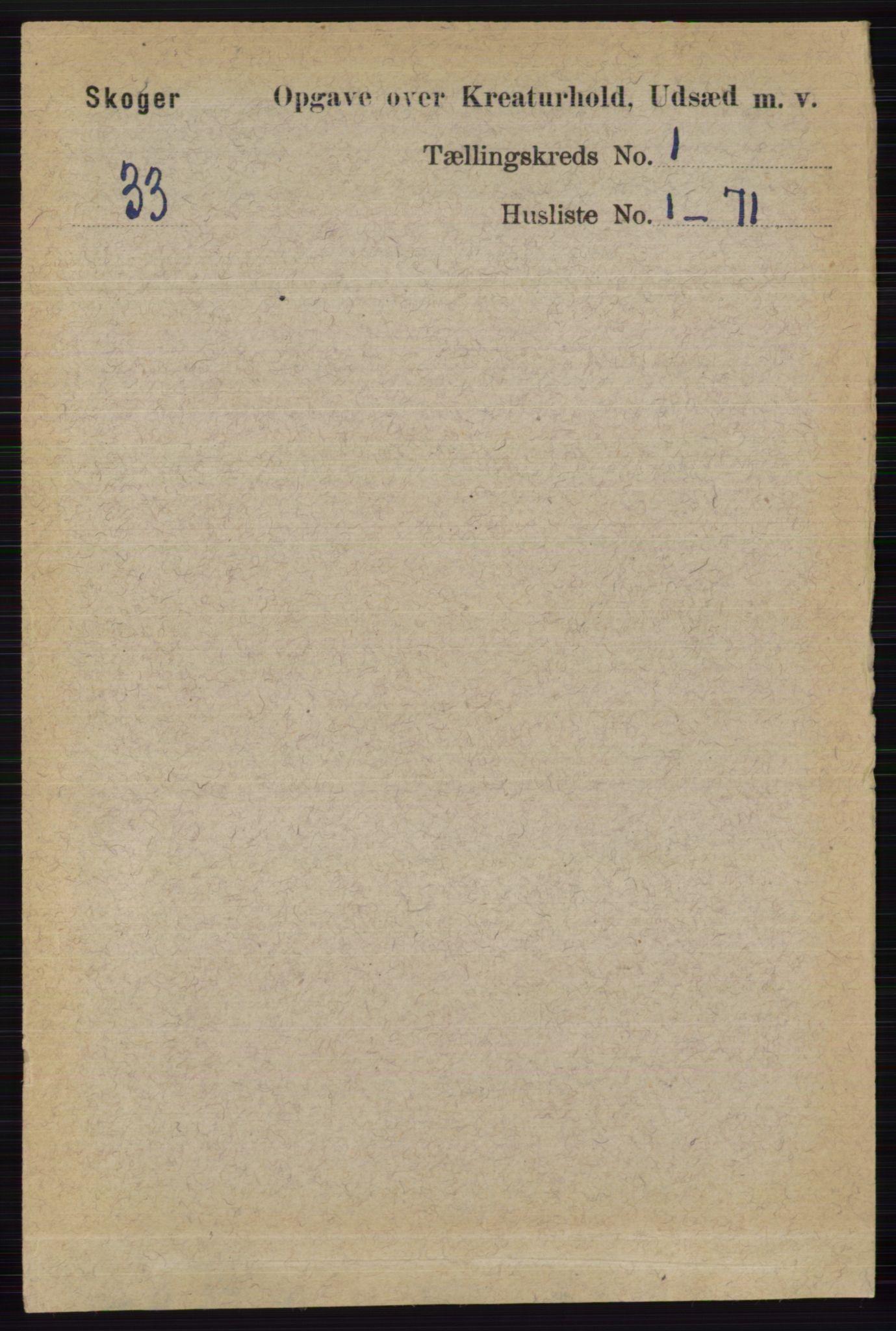 RA, Folketelling 1891 for 0712 Skoger herred, 1891, s. 4313
