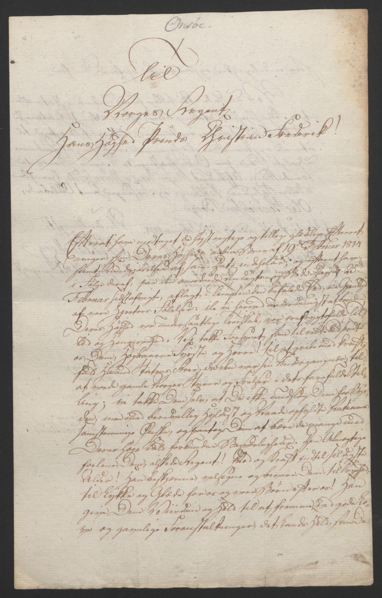 RA, Statsrådssekretariatet, D/Db/L0007: Fullmakter for Eidsvollsrepresentantene i 1814. , 1814, s. 157