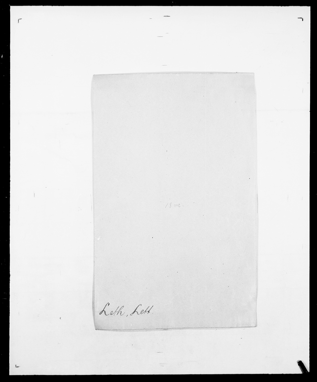 SAO, Delgobe, Charles Antoine - samling, D/Da/L0023: Lau - Lirvyn, s. 261