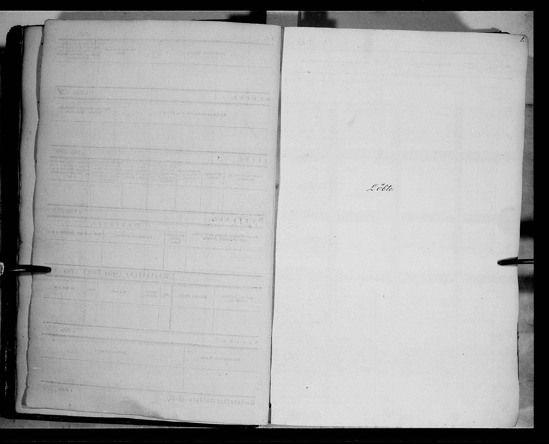 SAH, Vestre Toten prestekontor, H/Ha/Haa/L0006: Ministerialbok nr. 6, 1856-1861, s. 1