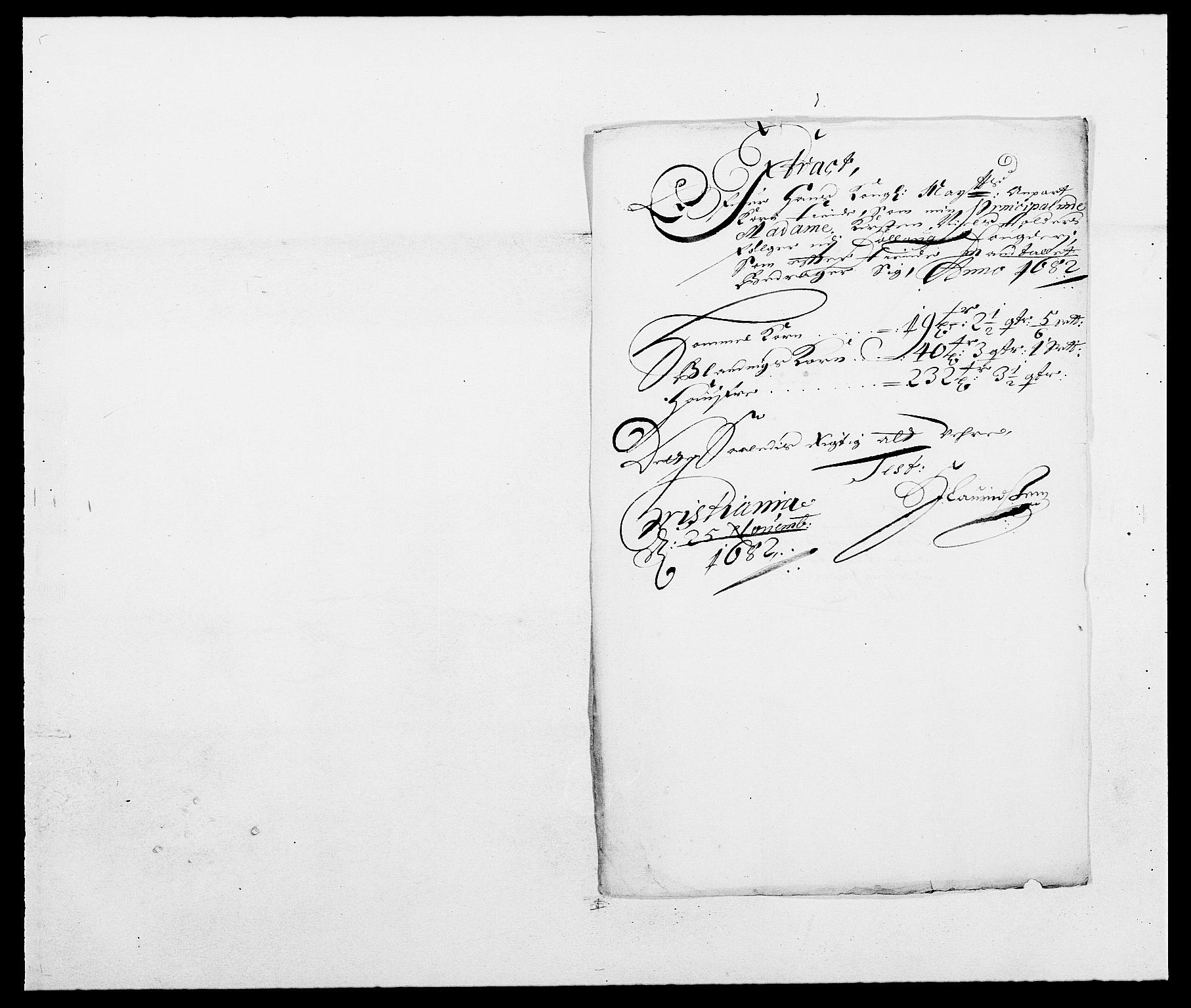 RA, Rentekammeret inntil 1814, Reviderte regnskaper, Fogderegnskap, R09/L0430: Fogderegnskap Follo, 1682-1683, s. 178
