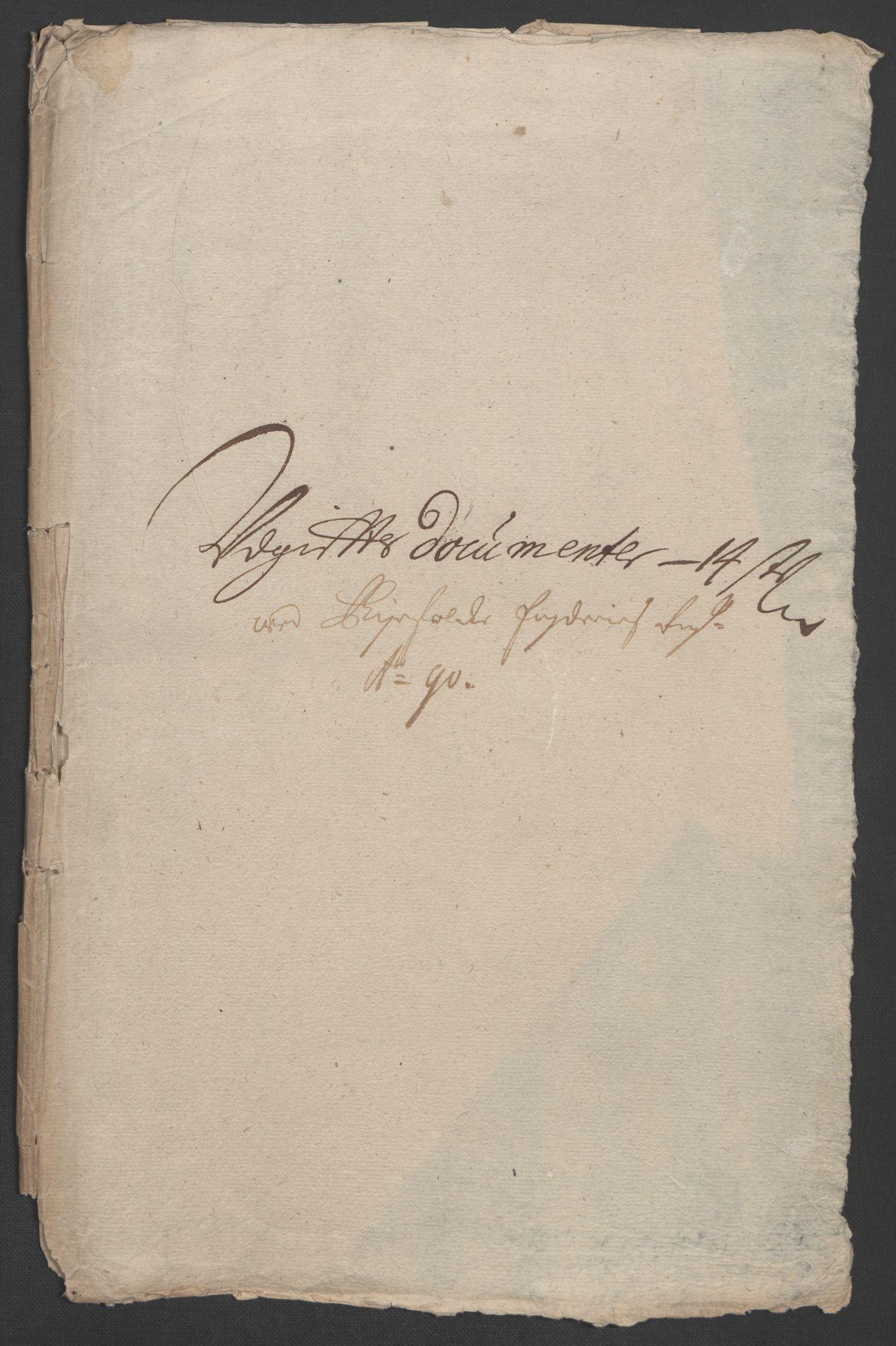 RA, Rentekammeret inntil 1814, Reviderte regnskaper, Fogderegnskap, R47/L2856: Fogderegnskap Ryfylke, 1689-1693, s. 235