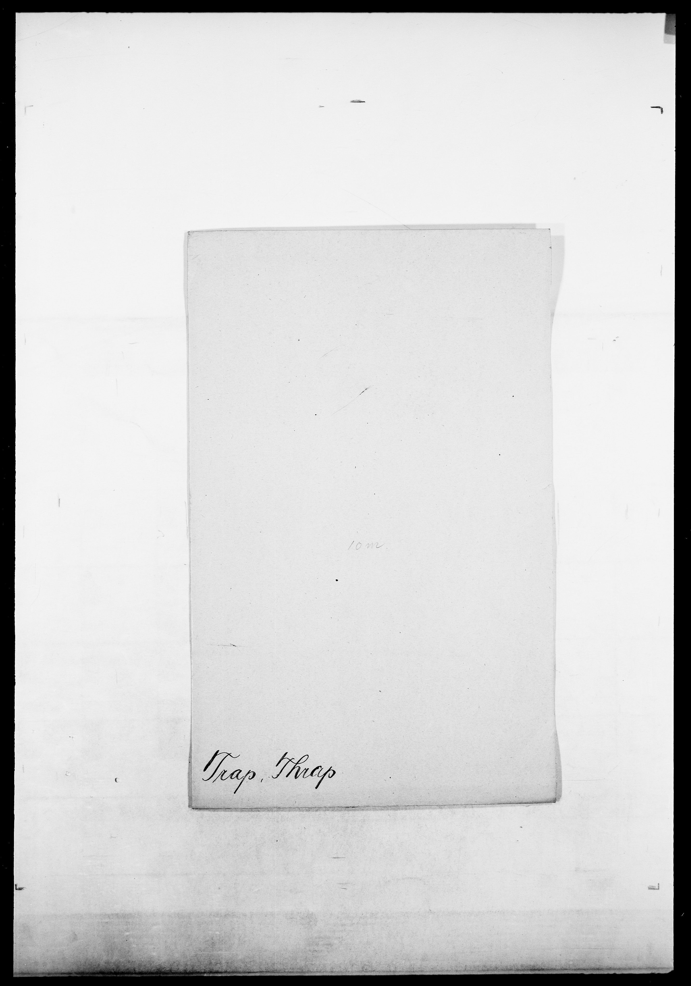 SAO, Delgobe, Charles Antoine - samling, D/Da/L0039: Thorsen - Urup, s. 301