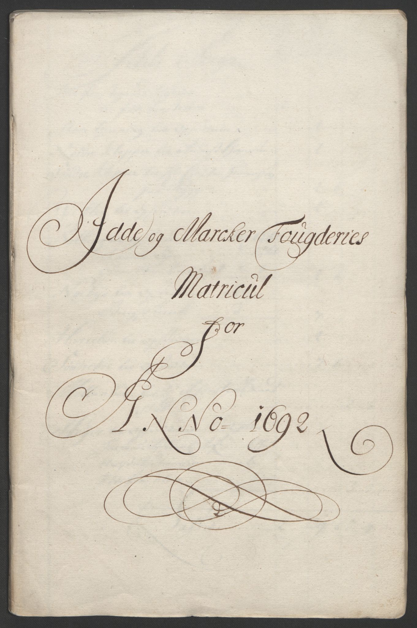 RA, Rentekammeret inntil 1814, Reviderte regnskaper, Fogderegnskap, R01/L0011: Fogderegnskap Idd og Marker, 1692-1693, s. 59