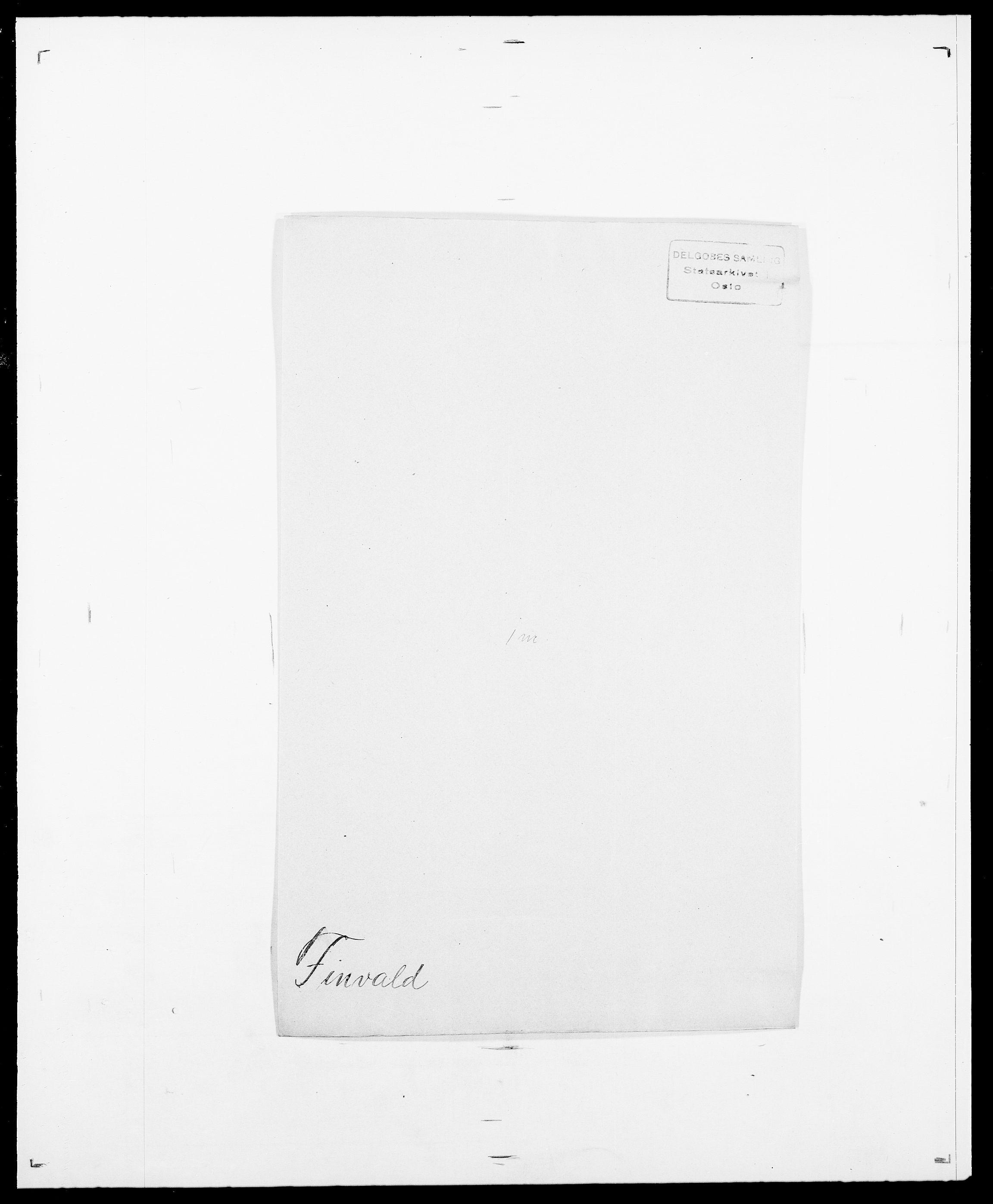 SAO, Delgobe, Charles Antoine - samling, D/Da/L0011: Fahlander - Flood, Flod, s. 513
