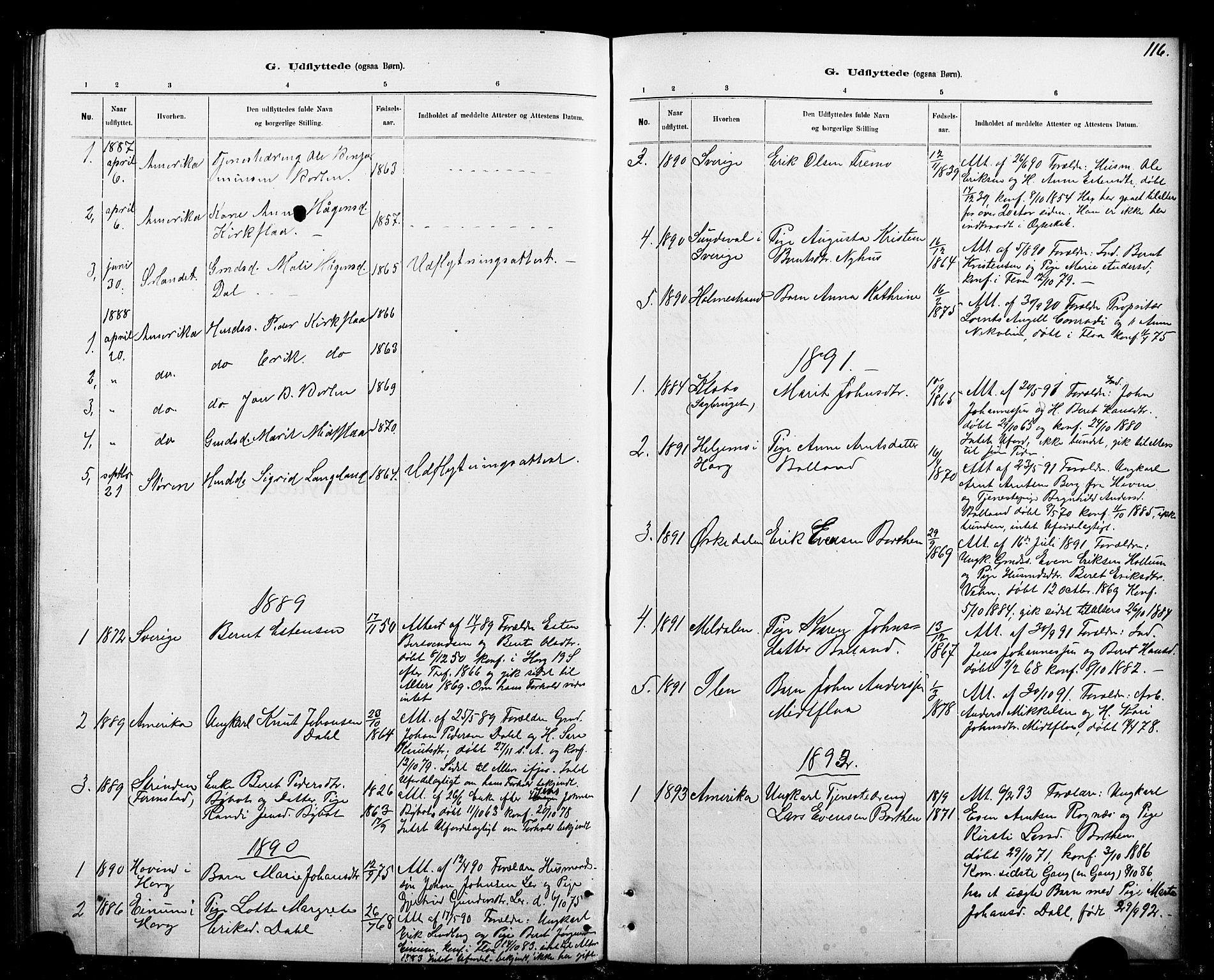 SAT, Ministerialprotokoller, klokkerbøker og fødselsregistre - Sør-Trøndelag, 693/L1123: Klokkerbok nr. 693C04, 1887-1910, s. 116