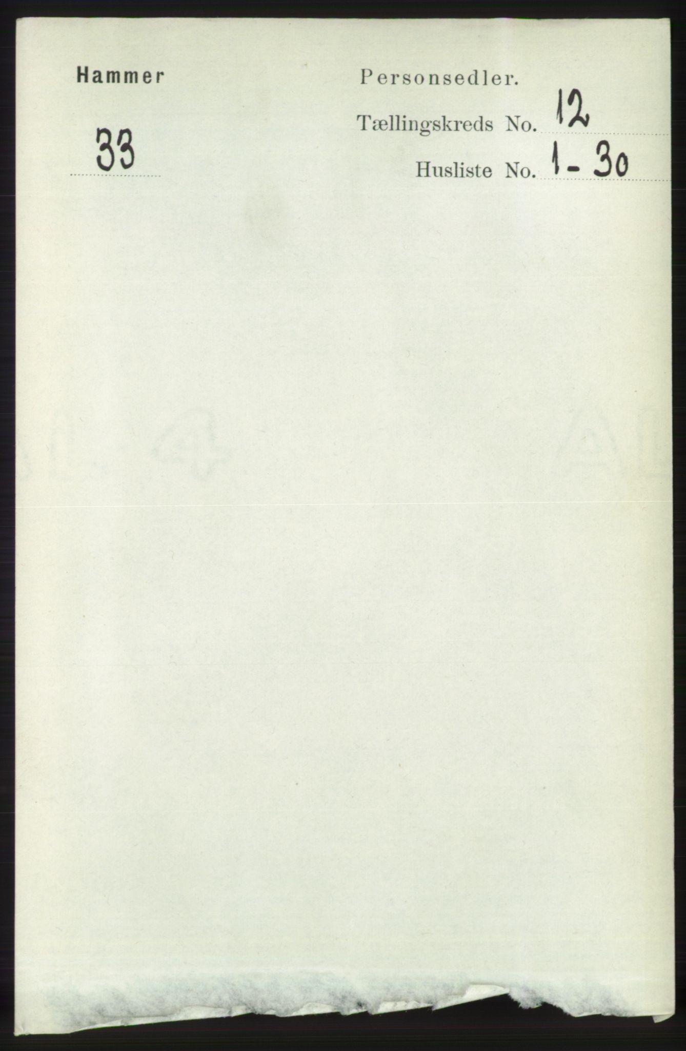 RA, Folketelling 1891 for 1254 Hamre herred, 1891, s. 3485