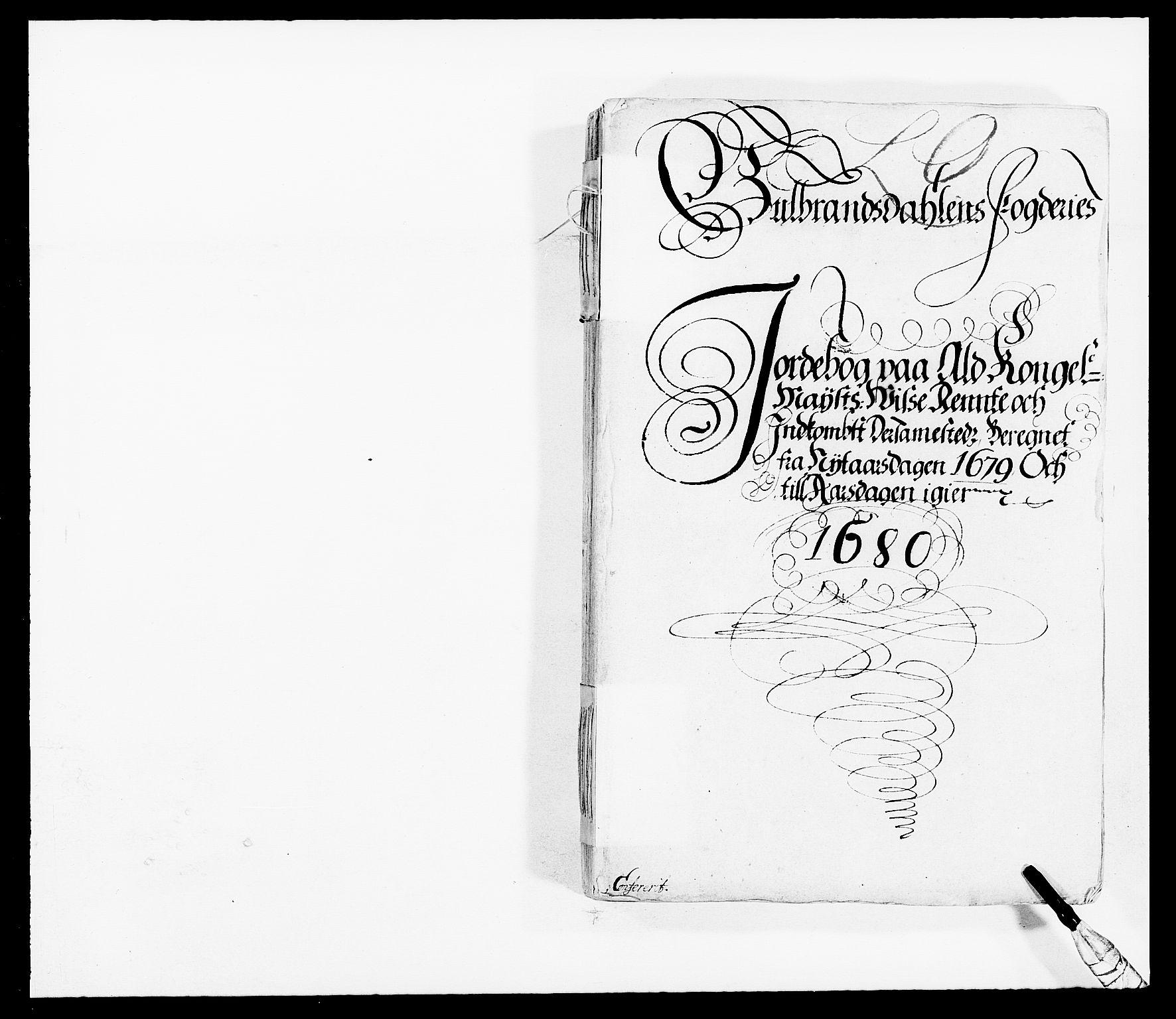 RA, Rentekammeret inntil 1814, Reviderte regnskaper, Fogderegnskap, R17/L1153: Fogderegnskap Gudbrandsdal, 1678-1679, s. 30