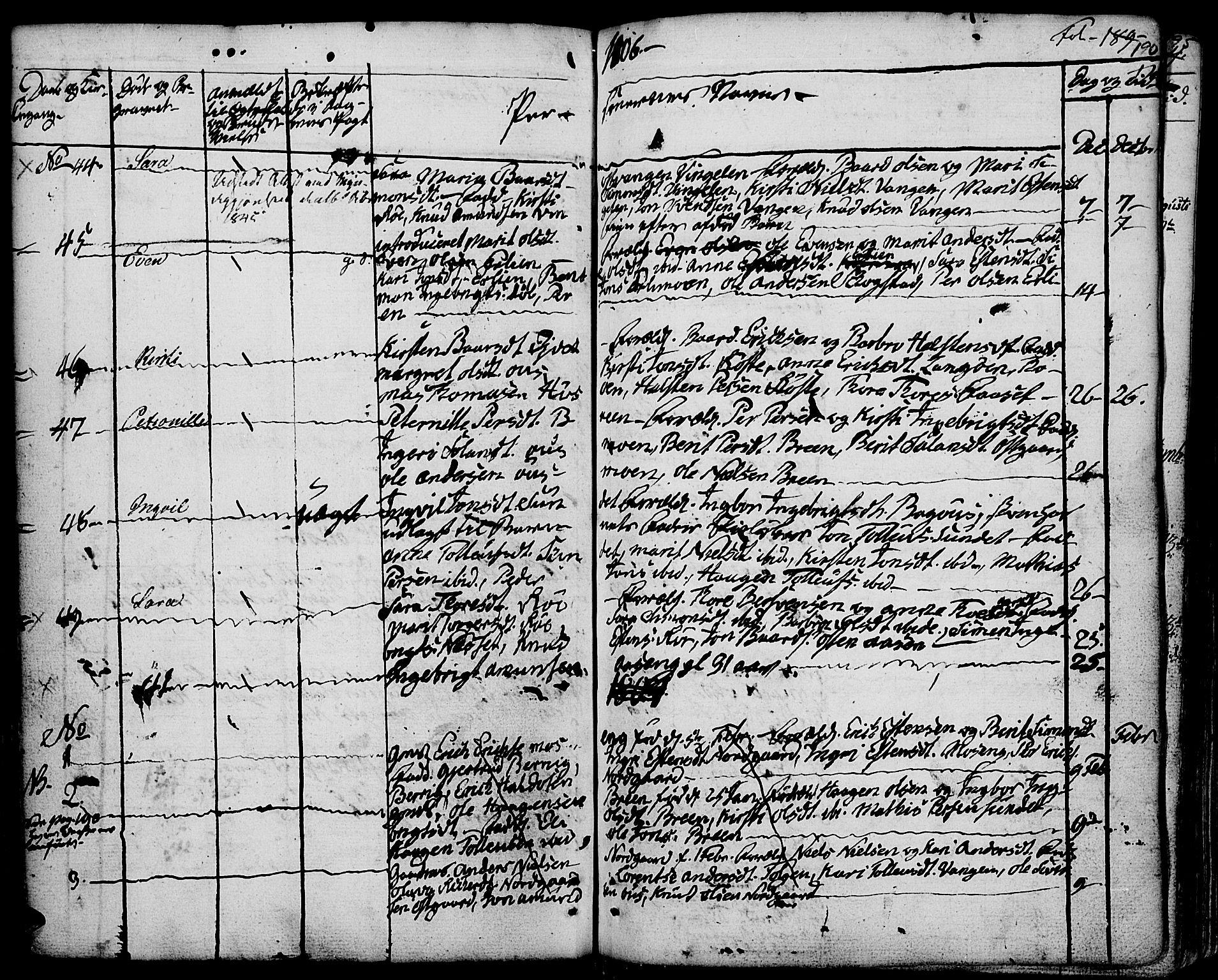 SAH, Tolga prestekontor, K/L0003: Ministerialbok nr. 3, 1786-1814, s. 190
