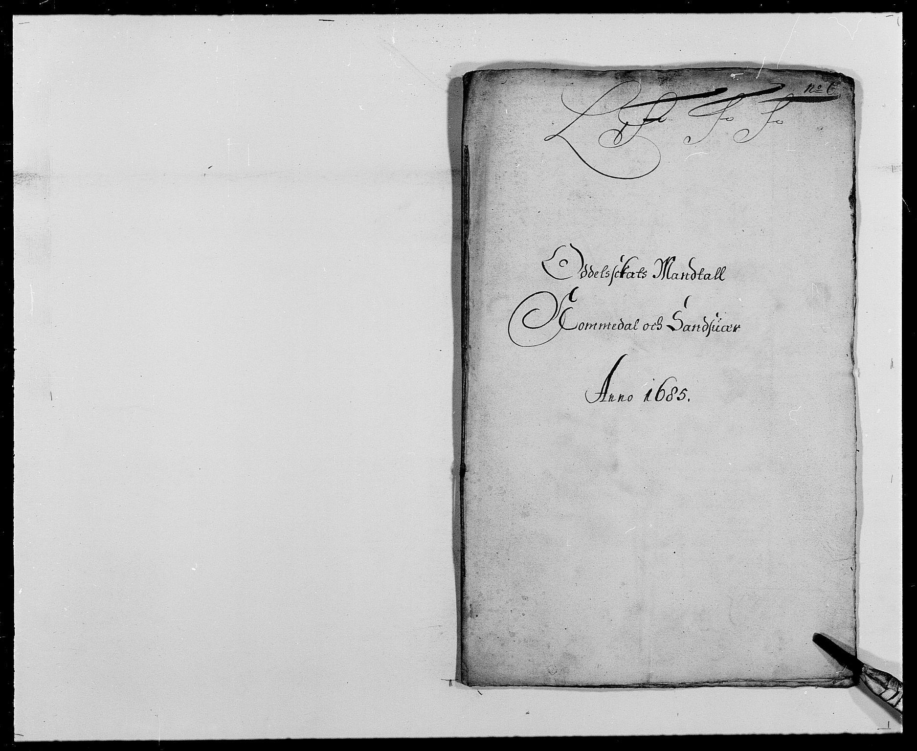 RA, Rentekammeret inntil 1814, Reviderte regnskaper, Fogderegnskap, R24/L1571: Fogderegnskap Numedal og Sandsvær, 1679-1686, s. 386