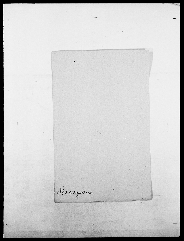 SAO, Delgobe, Charles Antoine - samling, D/Da/L0033: Roald - Røyem, s. 275