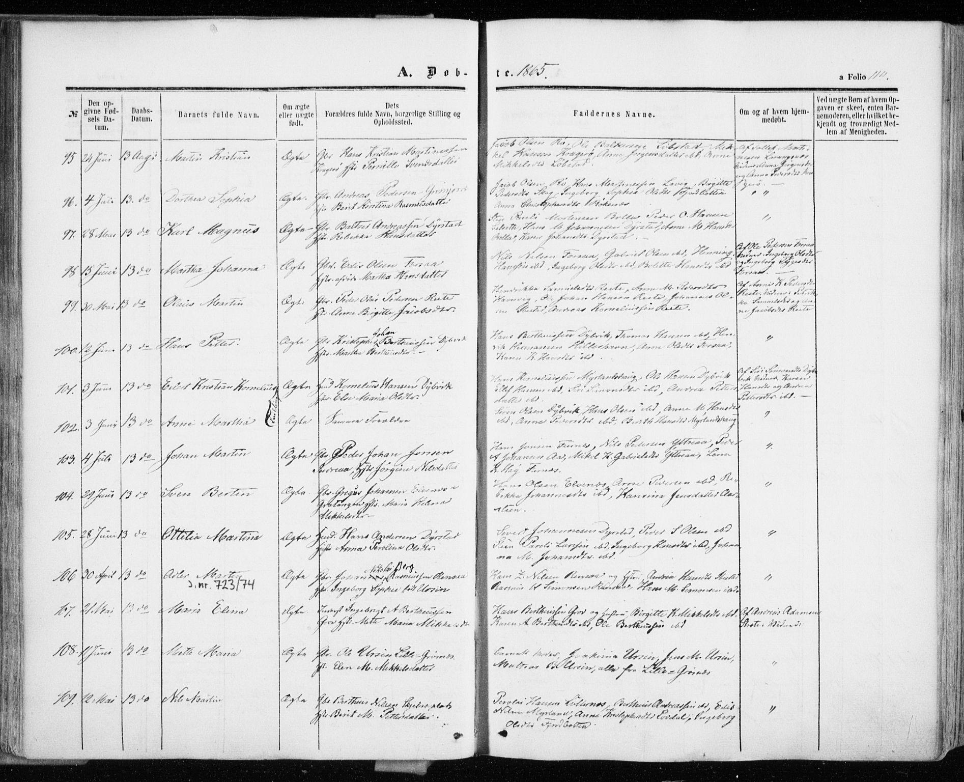 SATØ, Ibestad sokneprestembete, Ministerialbok nr. 9, 1859-1868, s. 114