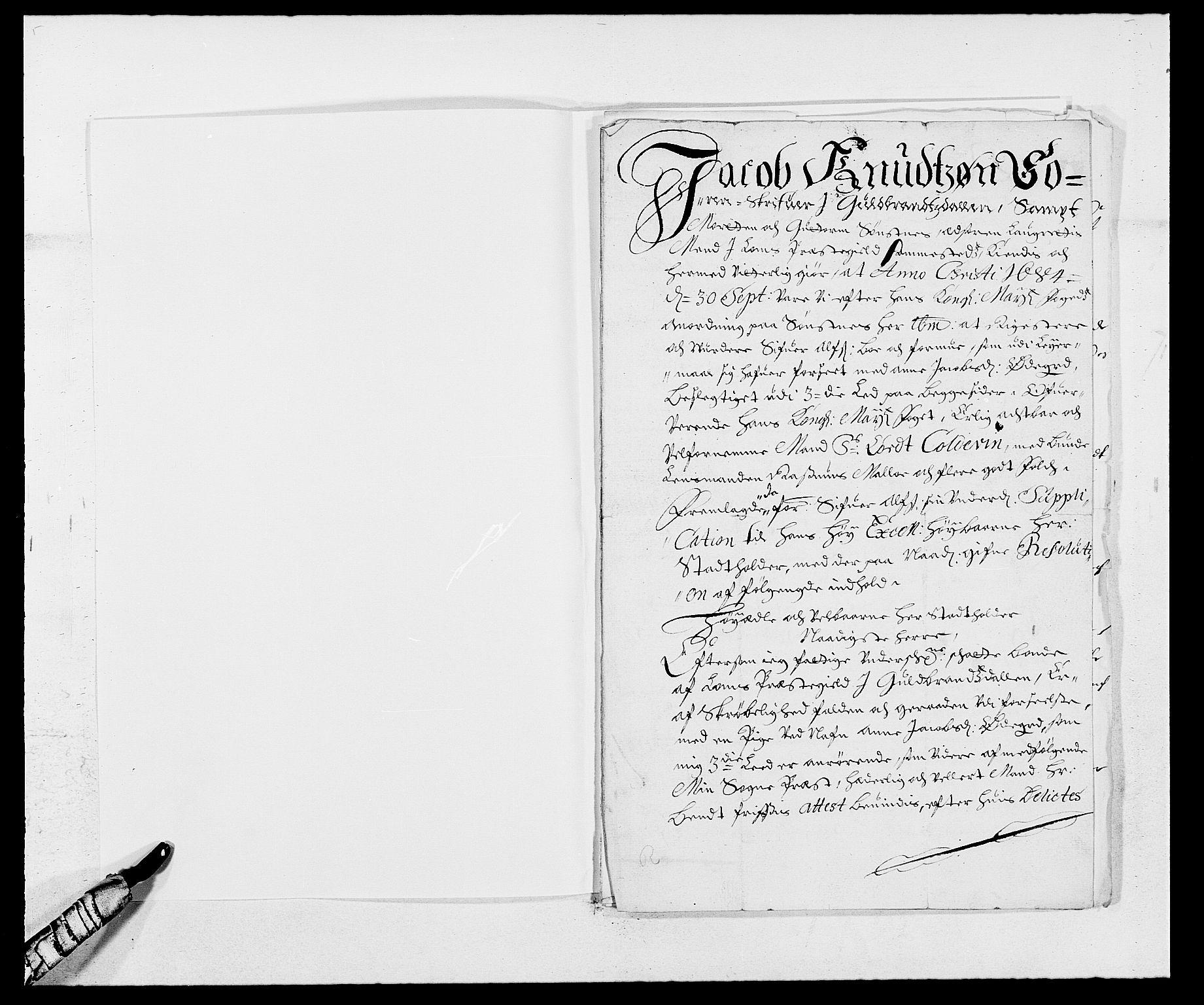 RA, Rentekammeret inntil 1814, Reviderte regnskaper, Fogderegnskap, R17/L1159: Fogderegnskap Gudbrandsdal, 1682-1689, s. 304