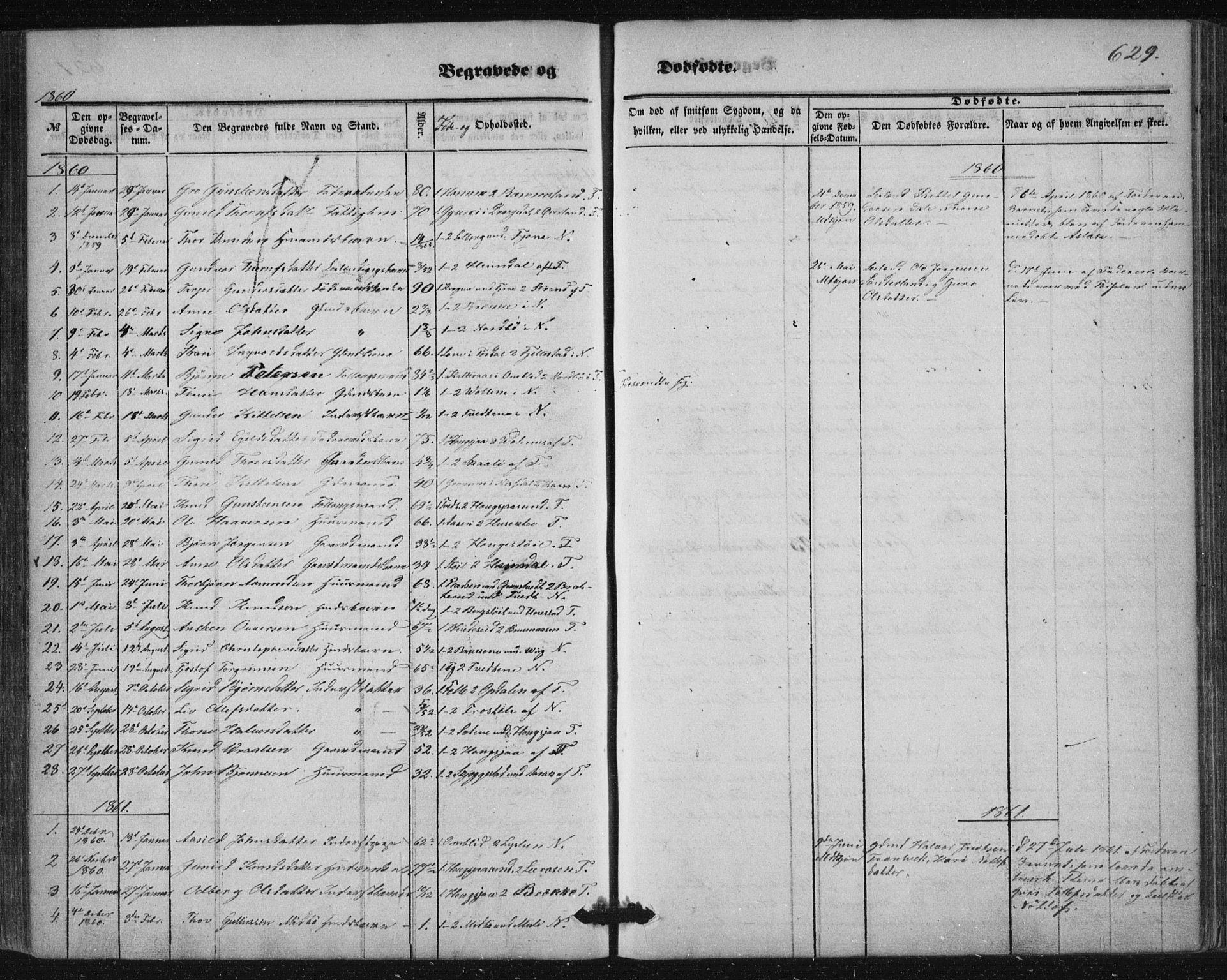 SAKO, Nissedal kirkebøker, F/Fa/L0003: Ministerialbok nr. I 3, 1846-1870, s. 628-629