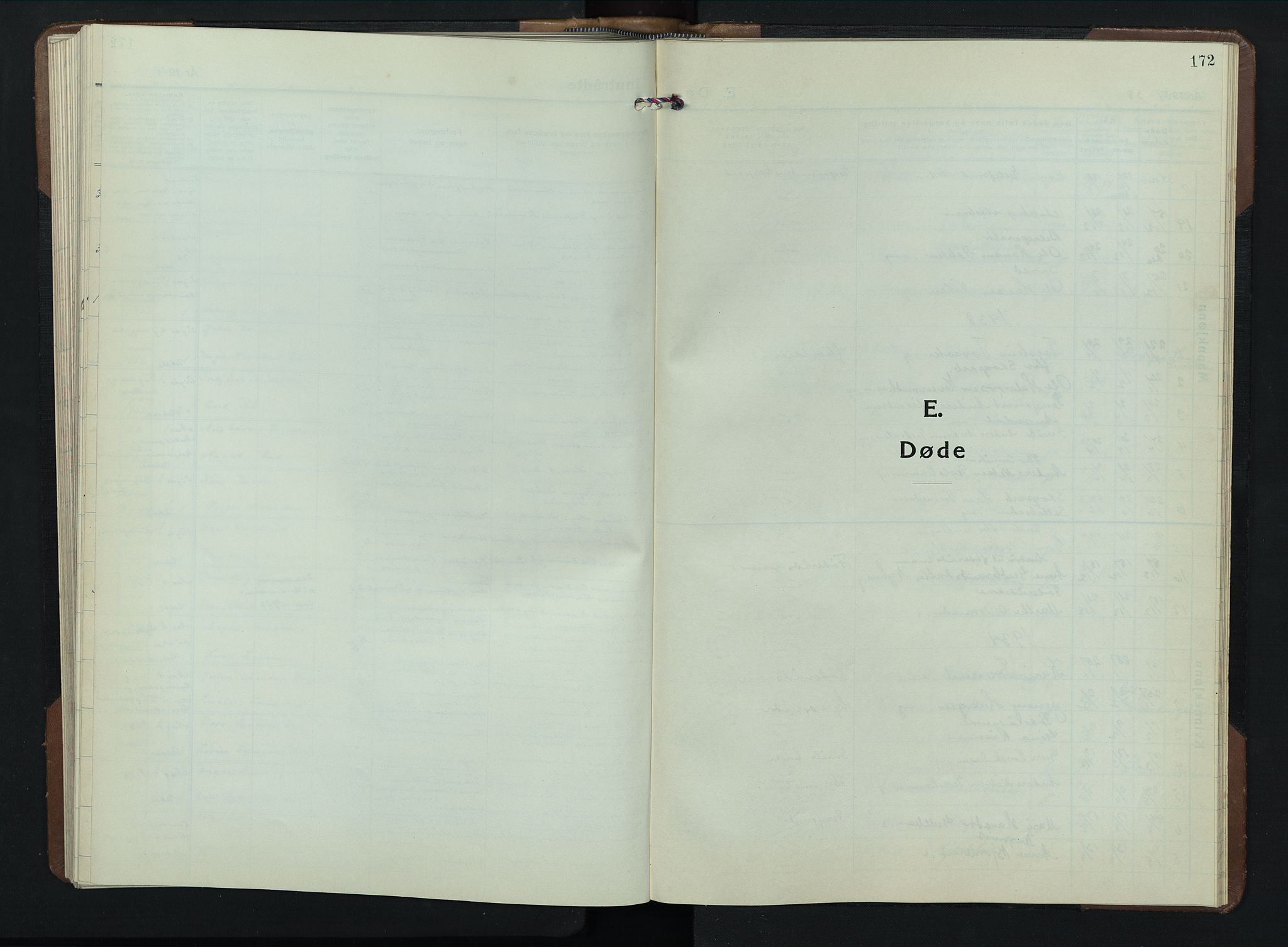 SAH, Brandbu prestekontor, Klokkerbok nr. 2, 1937-1953, s. 172