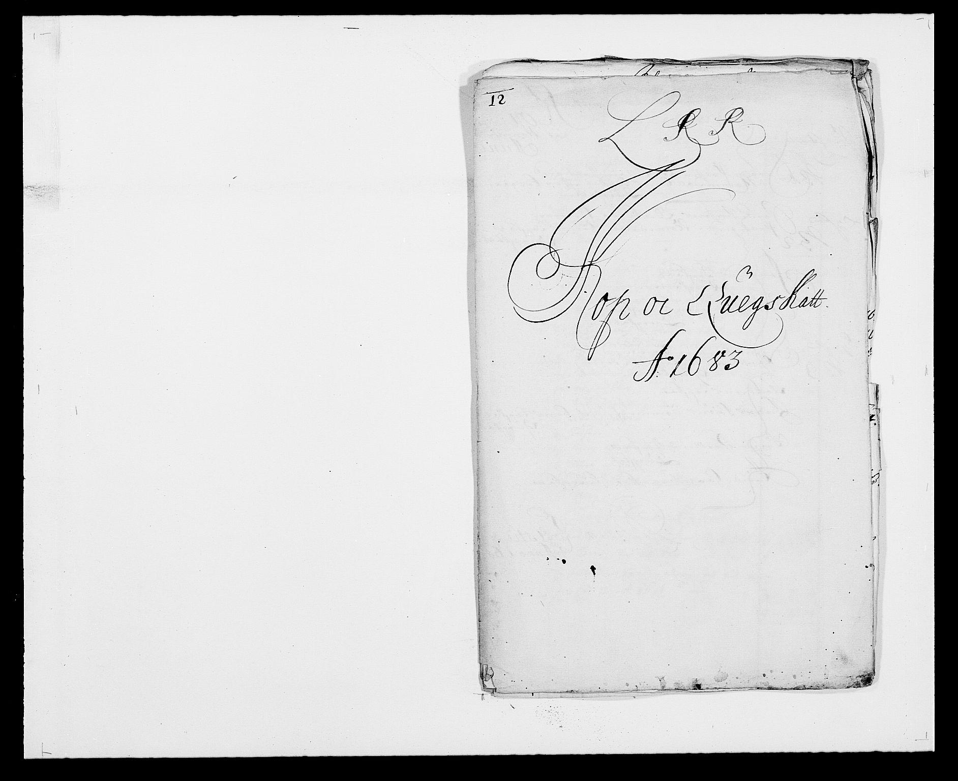 RA, Rentekammeret inntil 1814, Reviderte regnskaper, Fogderegnskap, R24/L1570: Fogderegnskap Numedal og Sandsvær, 1679-1686, s. 350