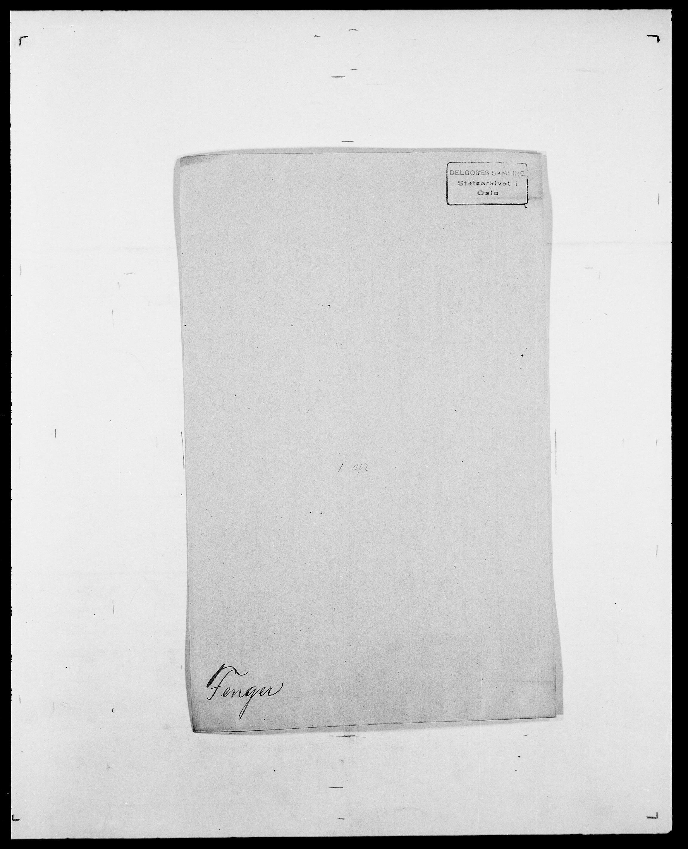 SAO, Delgobe, Charles Antoine - samling, D/Da/L0011: Fahlander - Flood, Flod, s. 355
