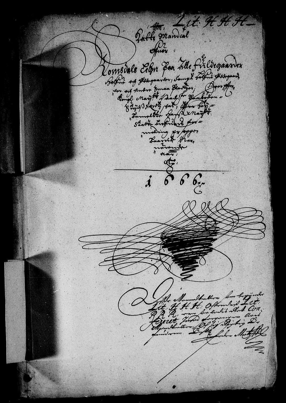 RA, Rentekammeret inntil 1814, Reviderte regnskaper, Stiftamtstueregnskaper, Trondheim stiftamt og Nordland amt, R/Rd/L0019: Trondheim stiftamt, 1665-1666