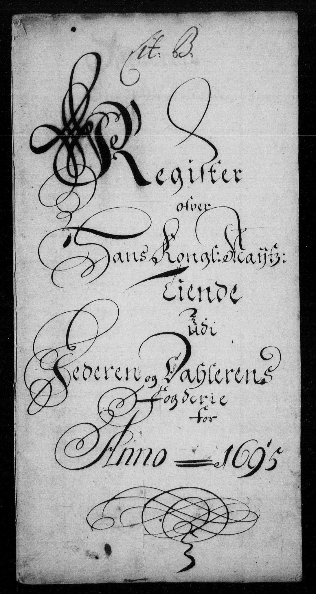 RA, Rentekammeret inntil 1814, Reviderte regnskaper, Fogderegnskap, R46/L2728: Fogderegnskap Jæren og Dalane, 1694-1696, s. 228