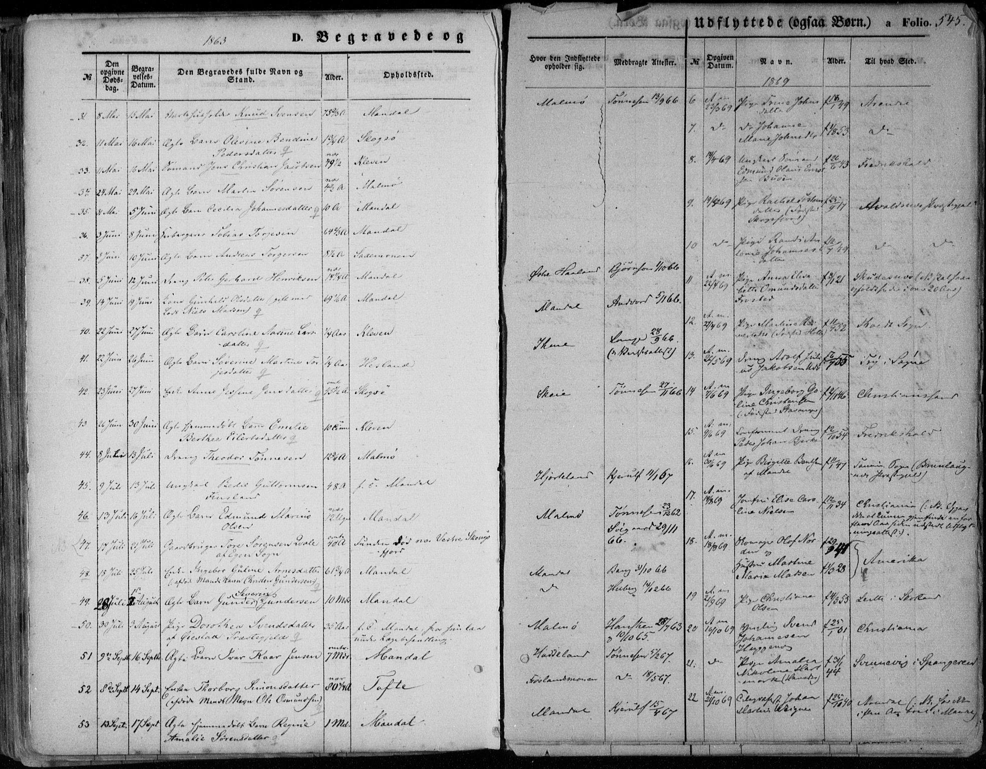 SAK, Mandal sokneprestkontor, F/Fa/Faa/L0014: Ministerialbok nr. A 14, 1859-1872, s. 545