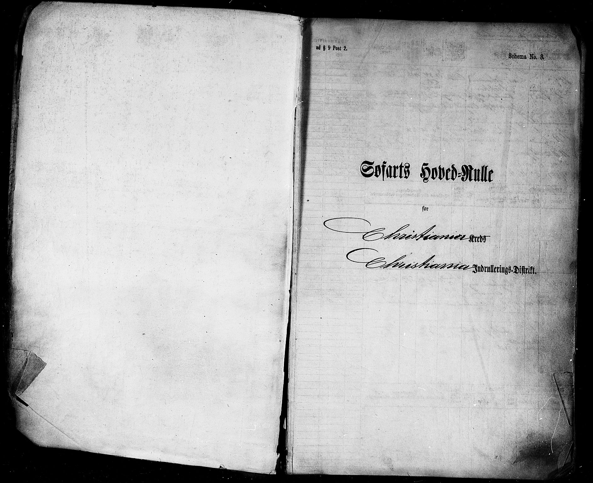 SAO, Oslo mønstringskontor, F/Fc/Fcb/L0005: Hovedrulle, 1873-1882, s. upaginert