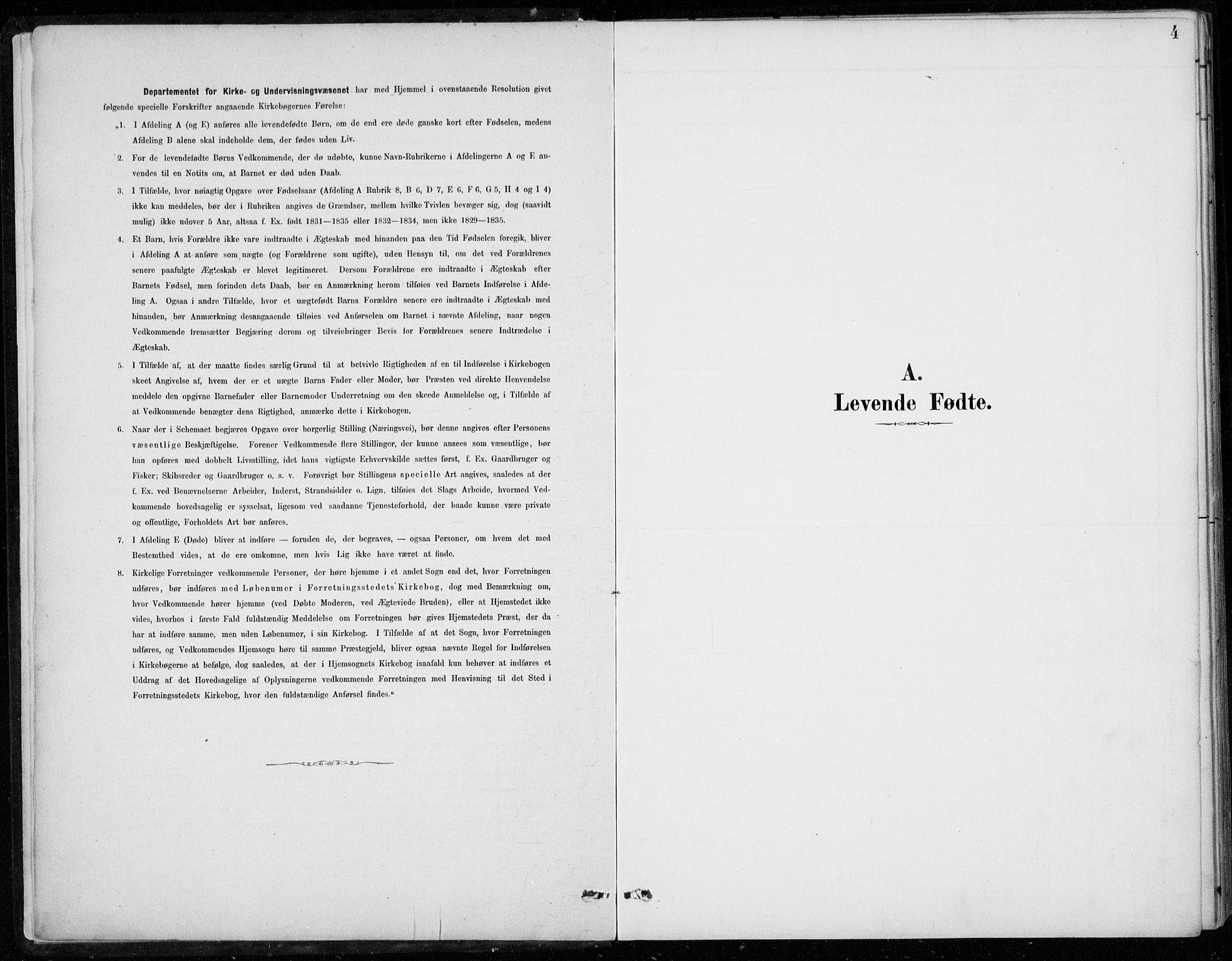 SAB, Den Norske Sjømannsmisjon i utlandet*, Ministerialbok nr. A 2, 1887-1932, s. 4