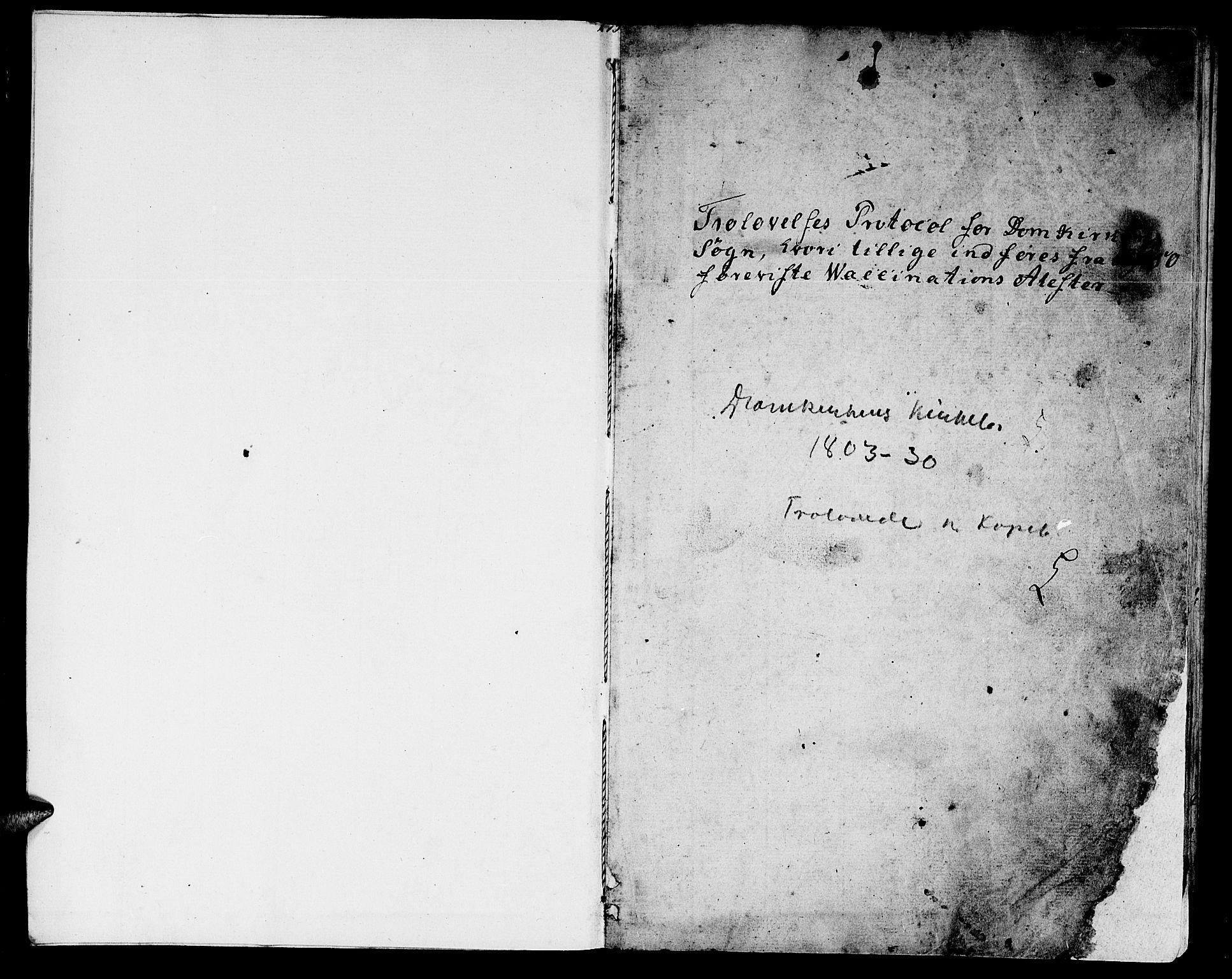 SAT, Ministerialprotokoller, klokkerbøker og fødselsregistre - Sør-Trøndelag, 601/L0042: Ministerialbok nr. 601A10, 1802-1830, s. 2-3
